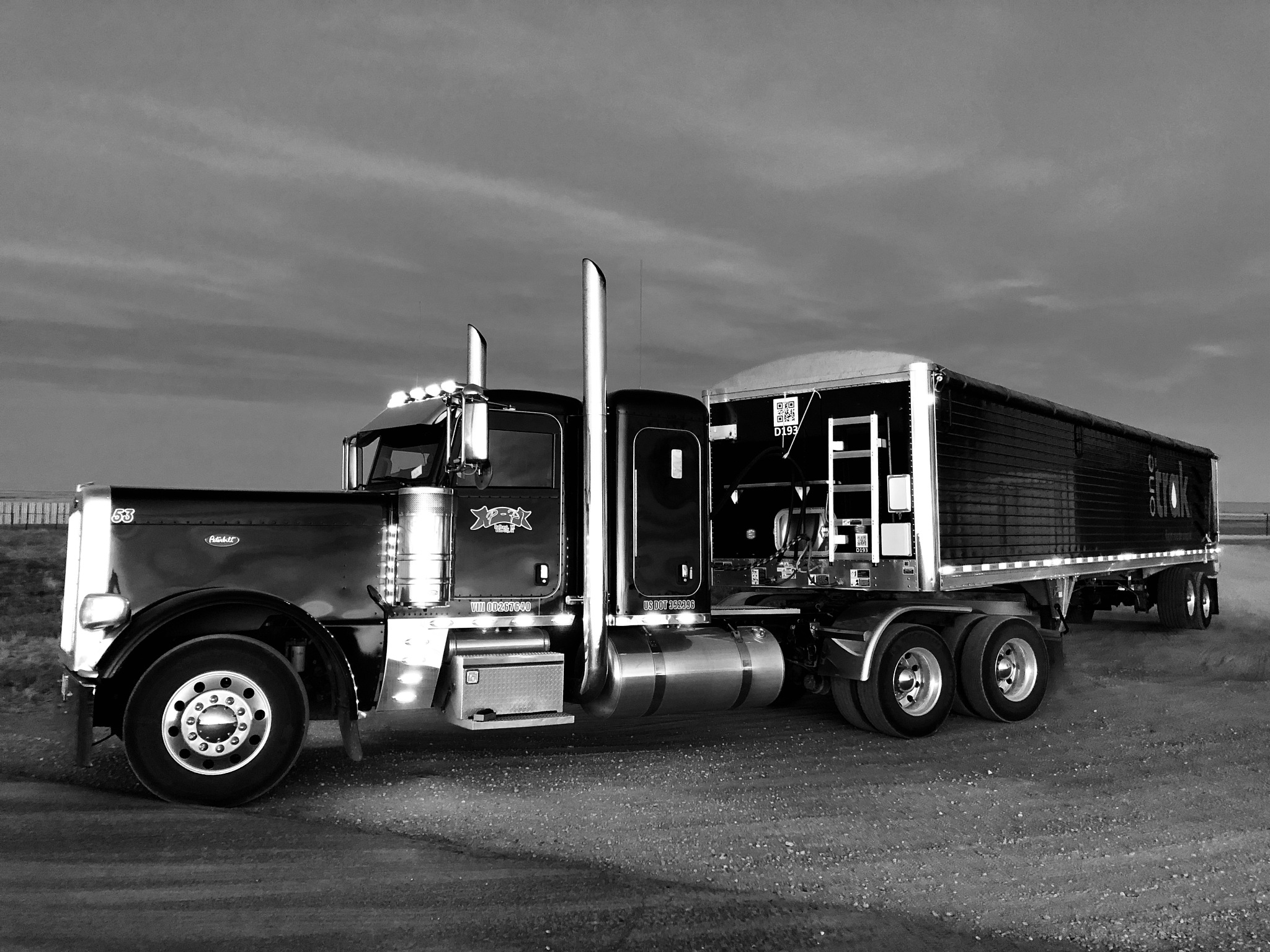 389 Peterbilt  by Mark Roberts
