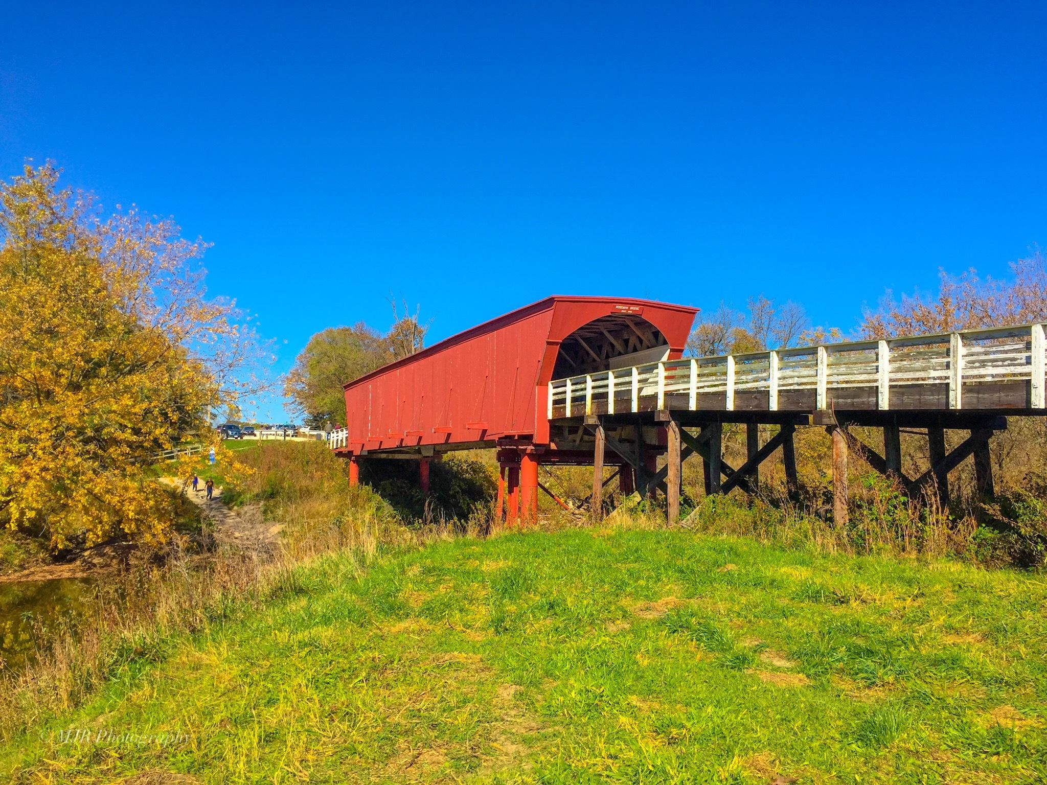 Bridge of Madison County by Mark Roberts