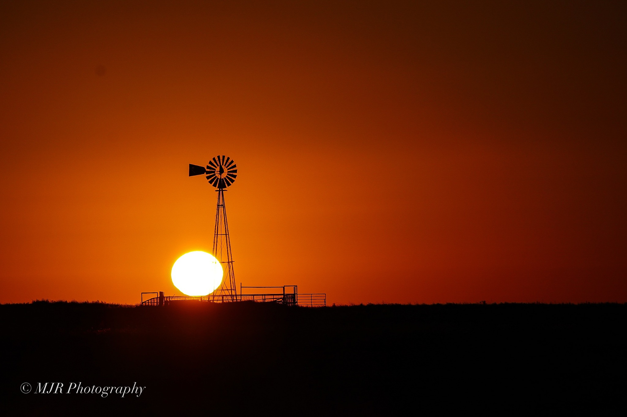 Sunrise windmill  by Mark Roberts