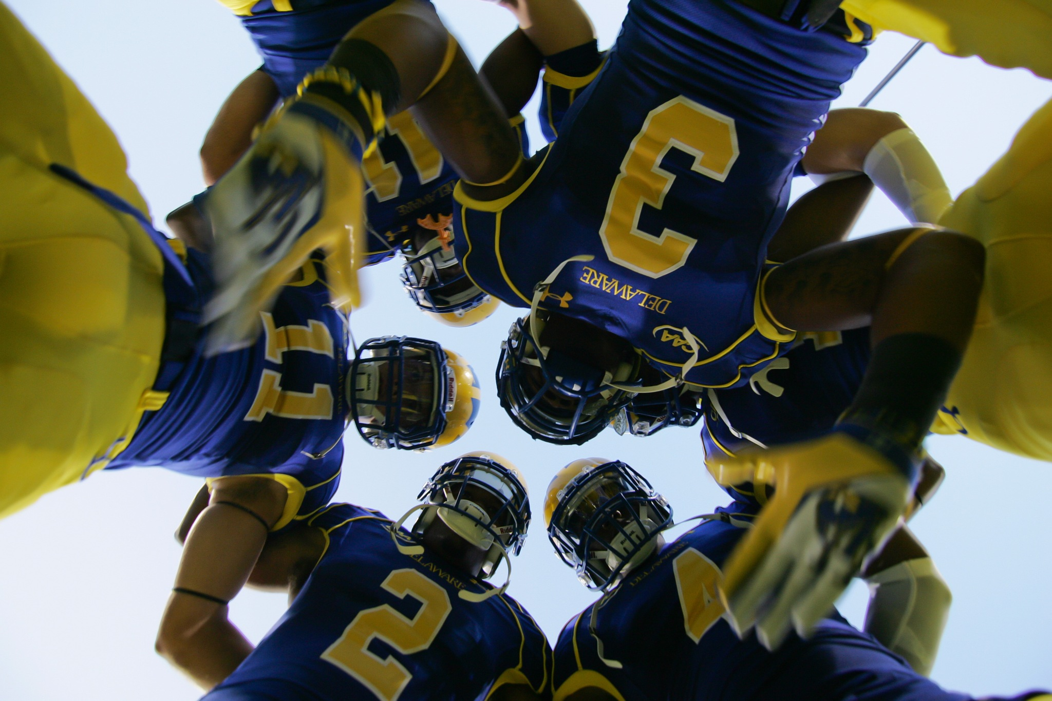 The Huddle by Saquan Stimpson