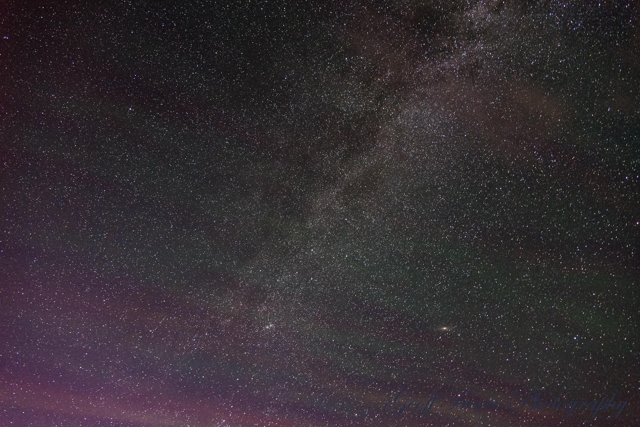 The Night Sky by Geoff Fierce