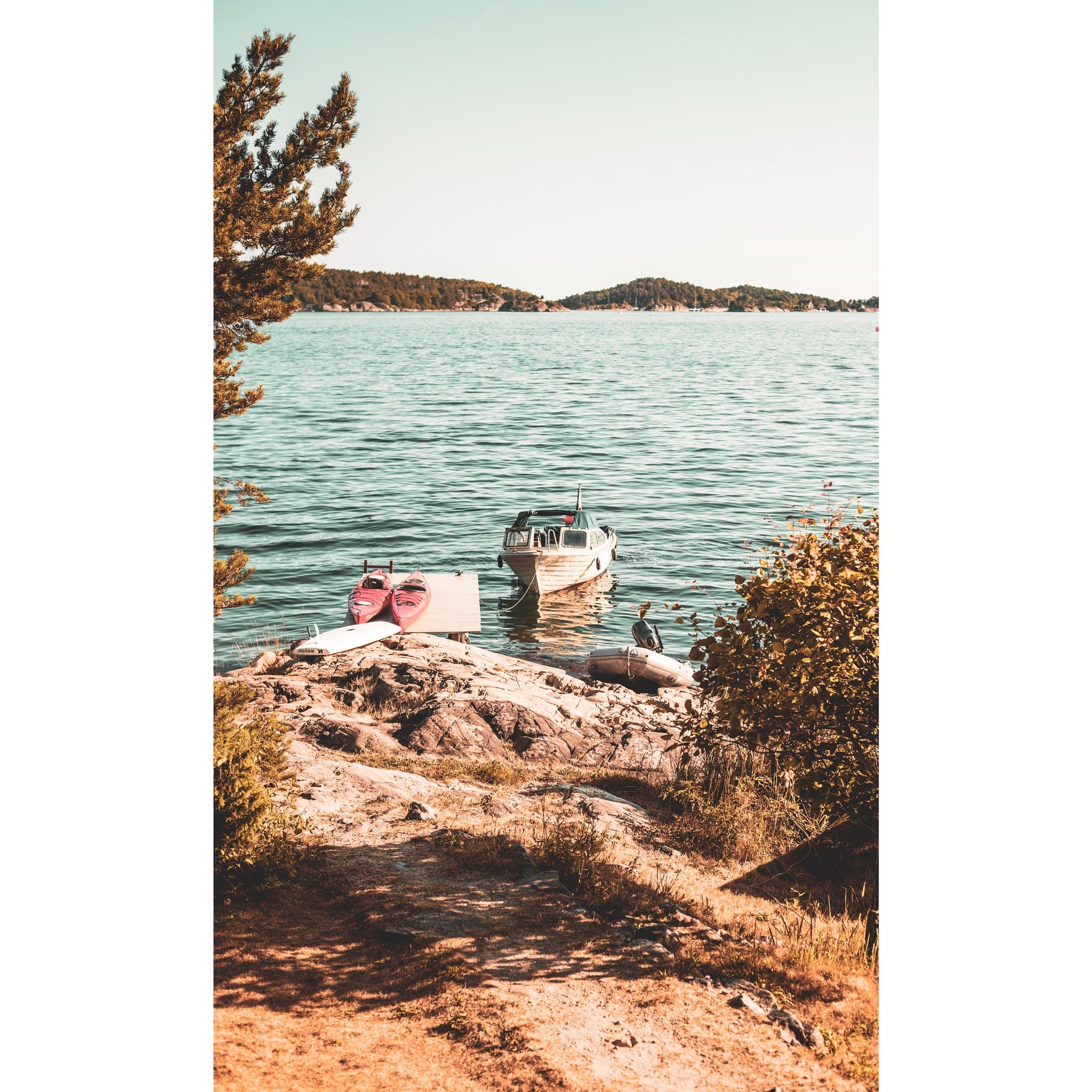 Norwegian Summer by Sebastian Hellvik Holst