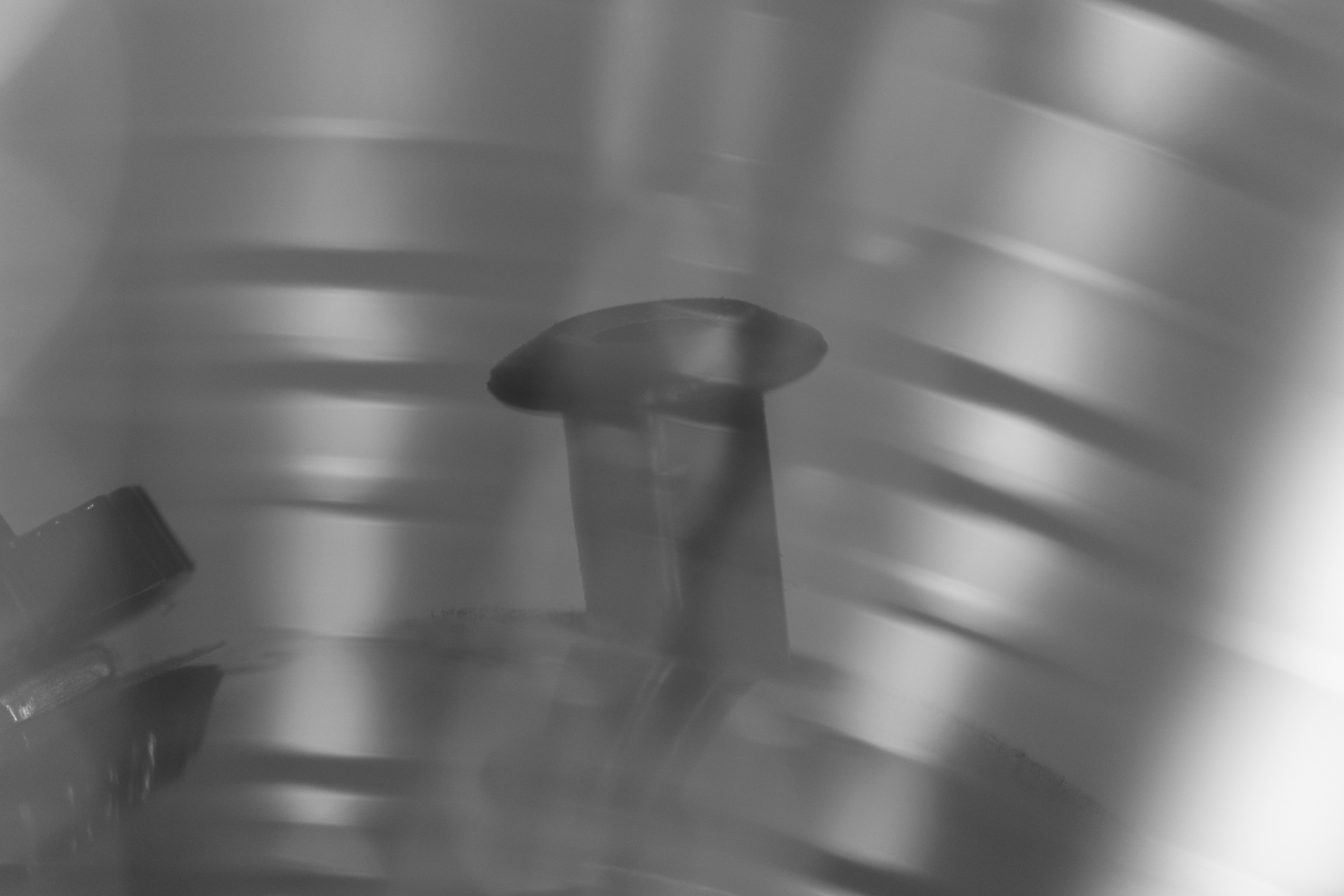 silhoette behind a metal veil by carmelmuscat64