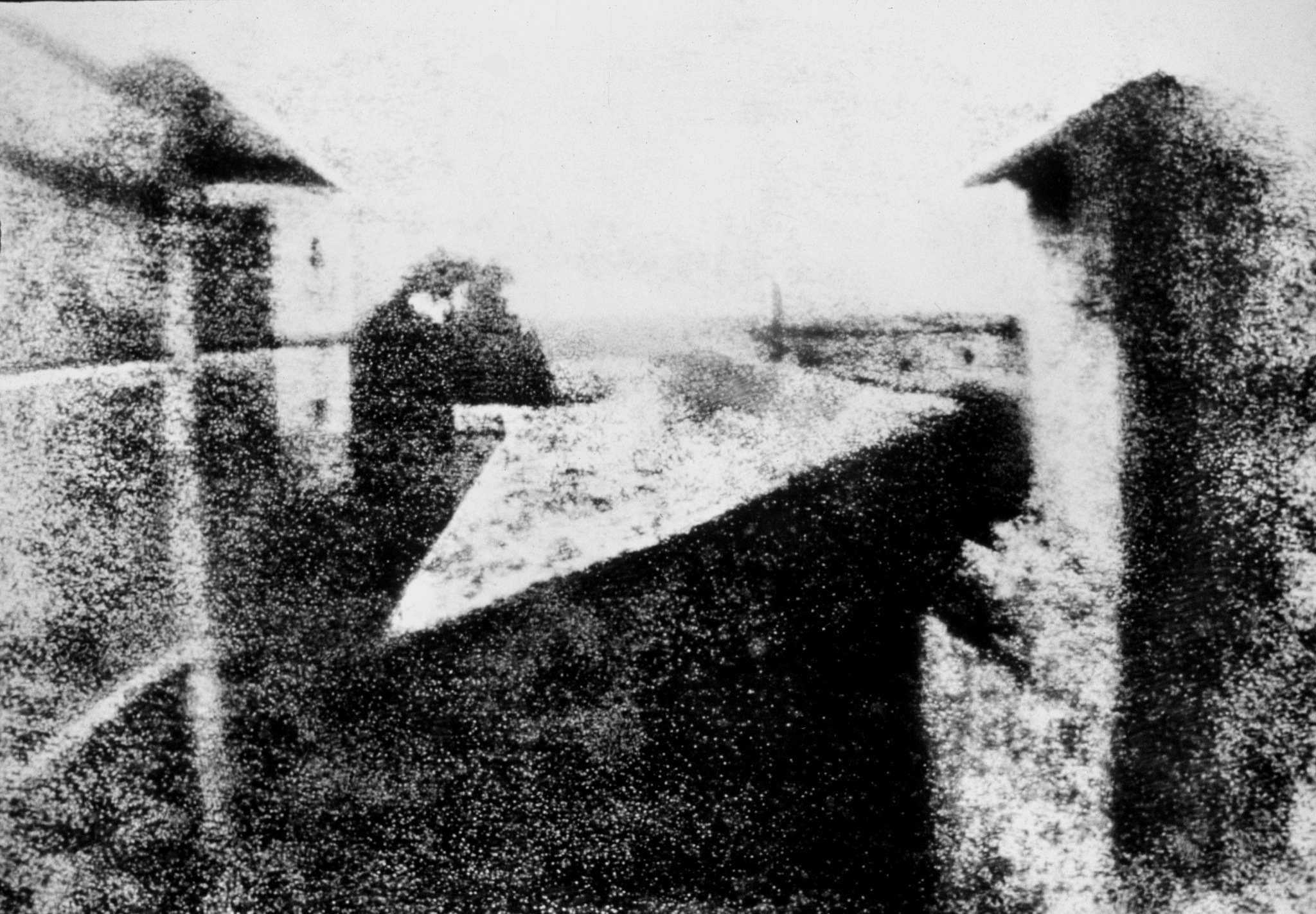 First photograph in history by Amaury Astier