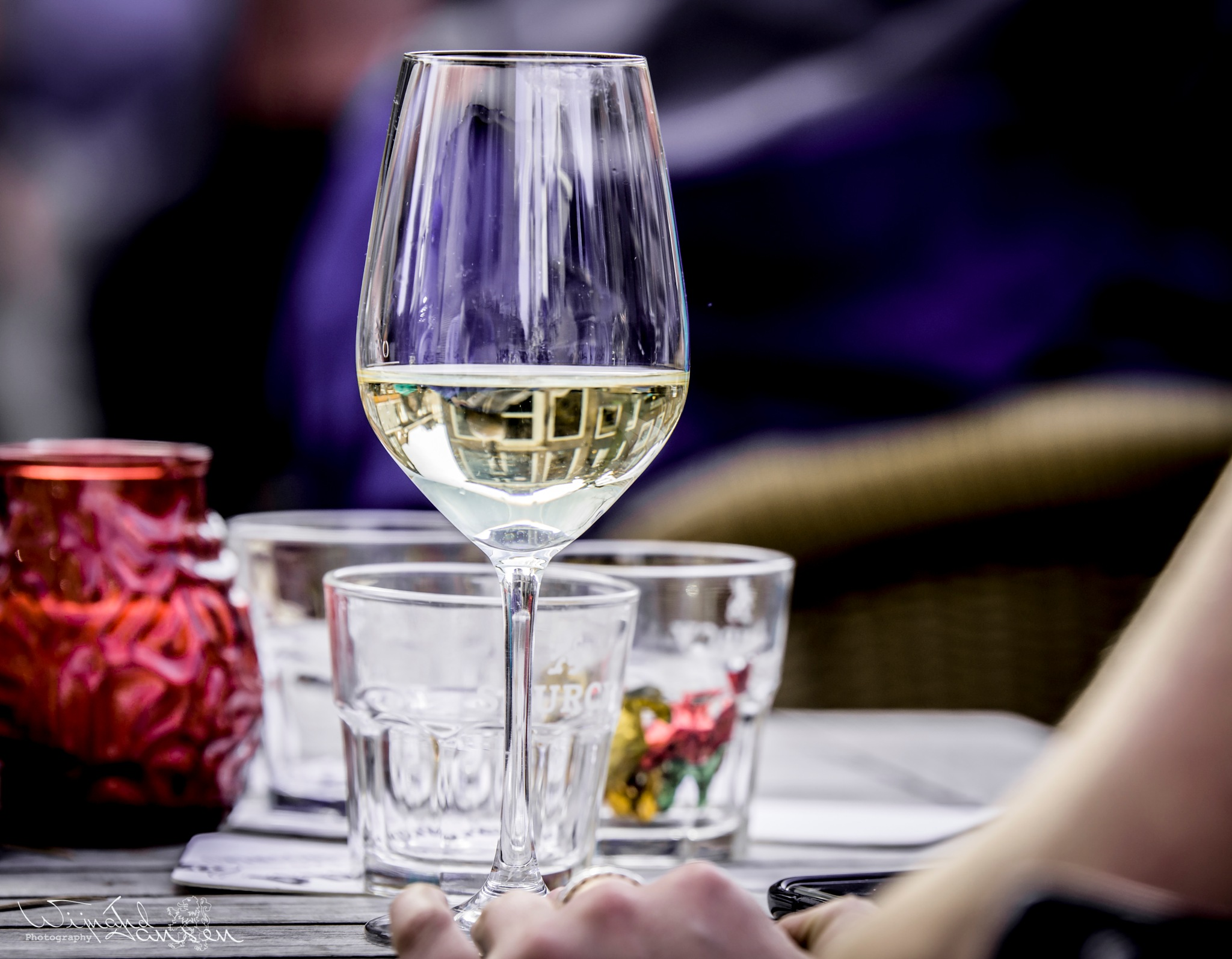 A good glass of wine will make your day nice and sweet by Wijnand Jansen