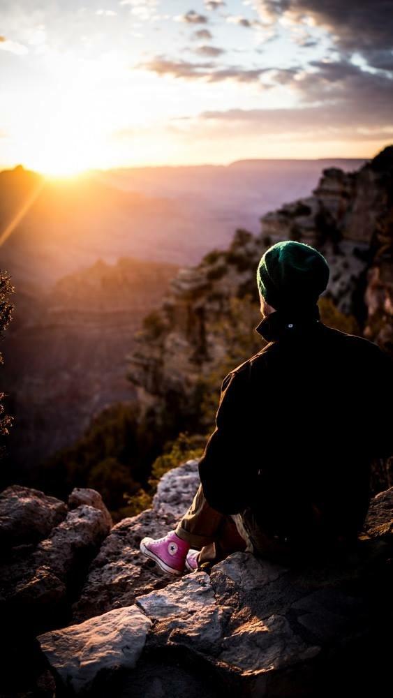 Grand Canyon sunrise.  by Daniel Alderson
