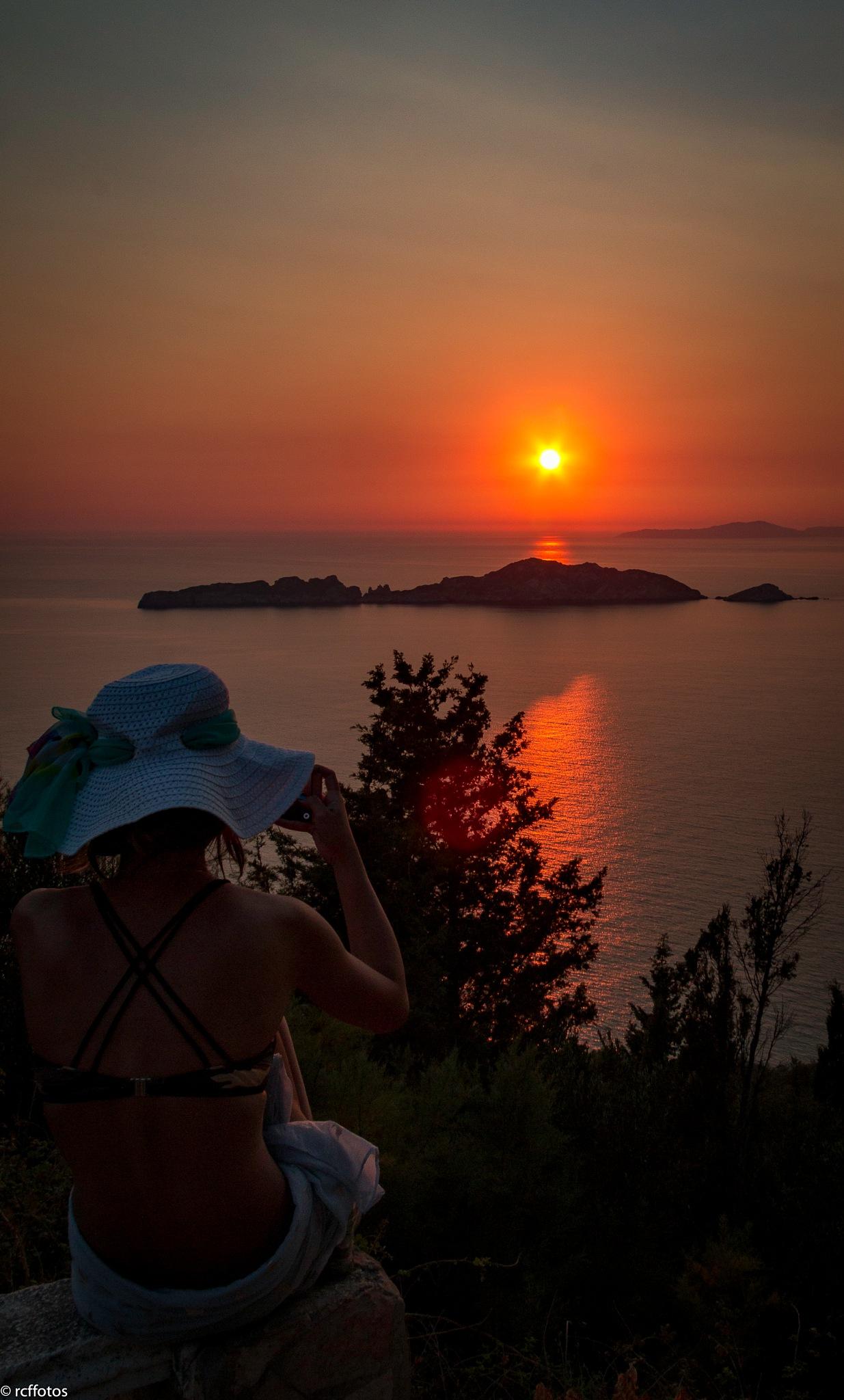 Corfu Sunset by rc ffotos
