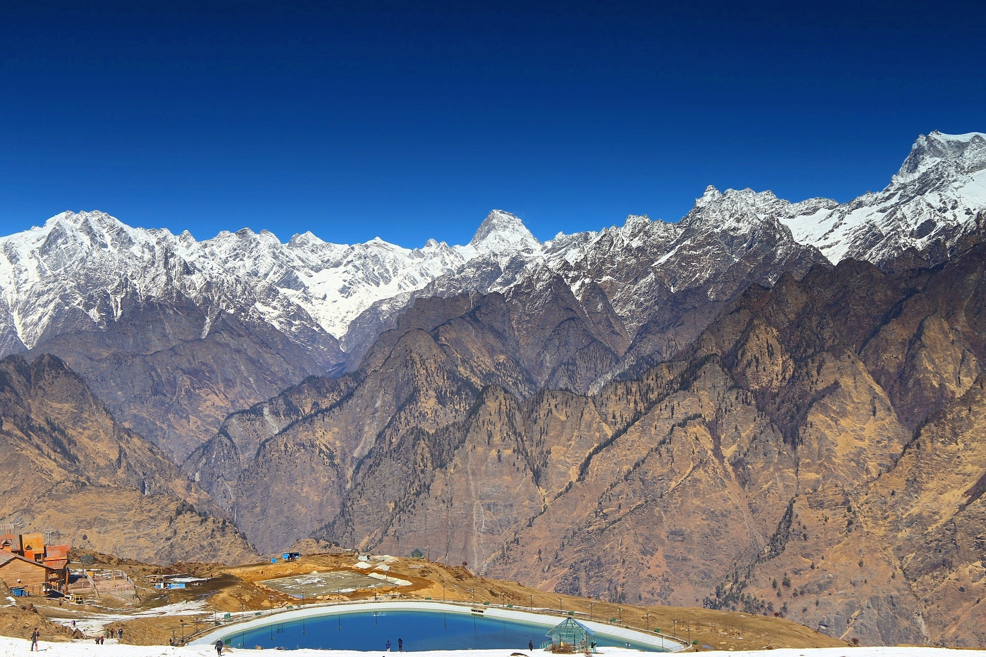 The Mighty Himalayas  by abhitrups2002