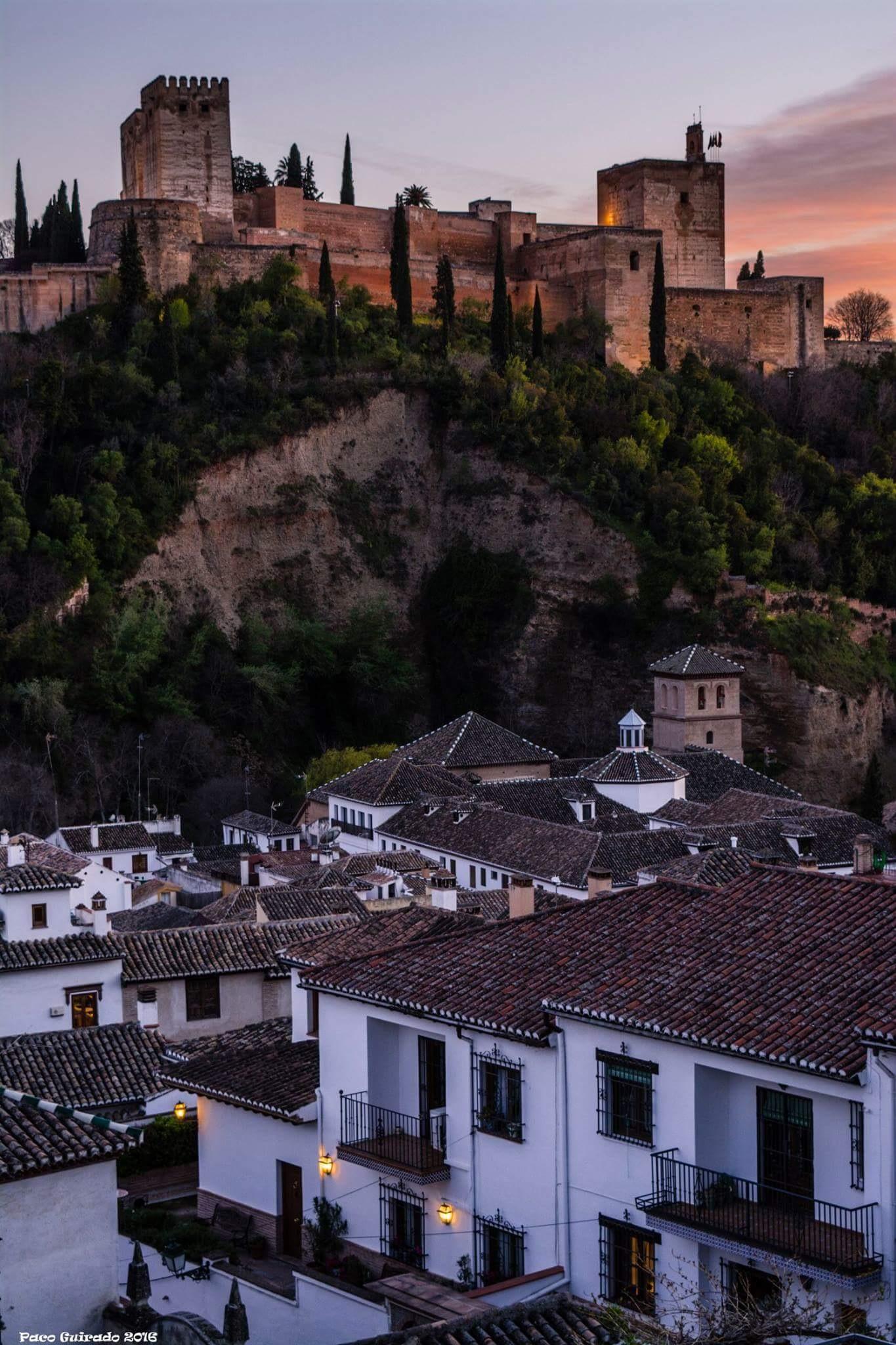 Granada tierra soñada por mi... by Francisco guirado