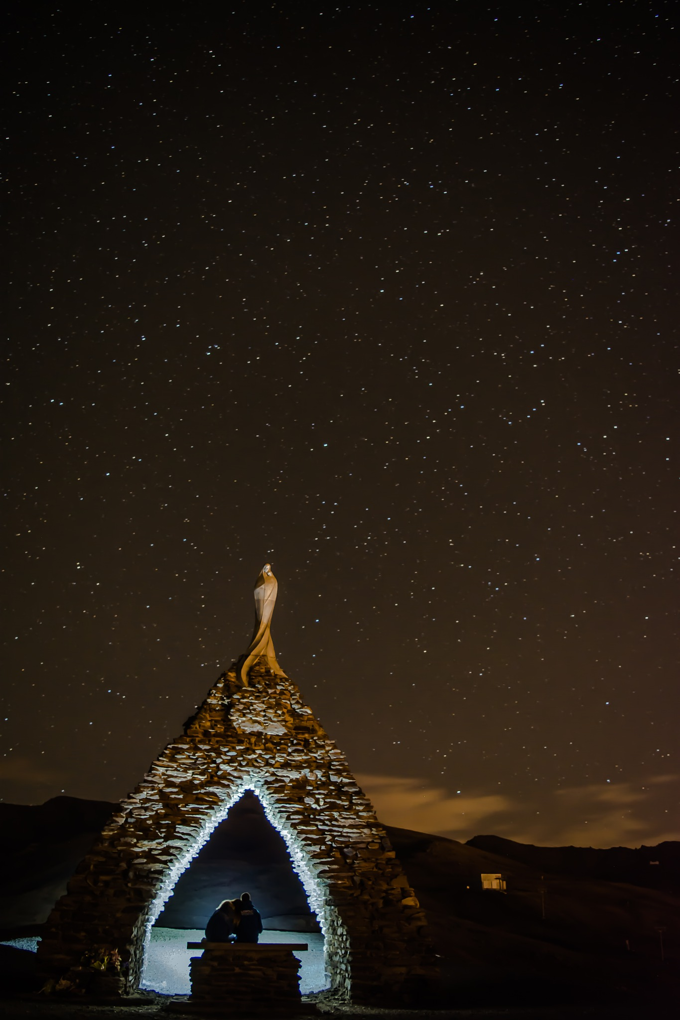 Virgen de las Nieves by Francisco guirado