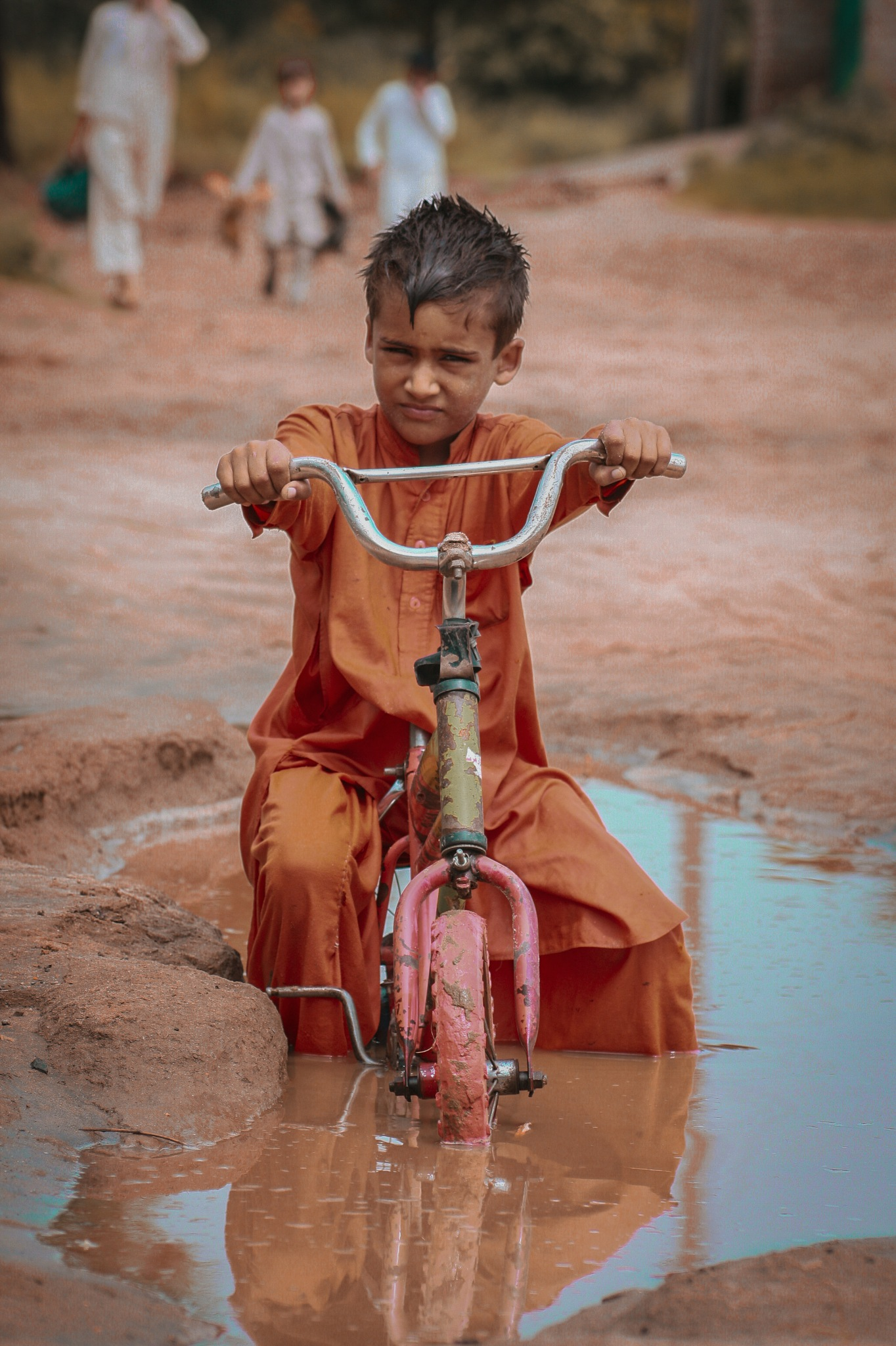Childportrait by Shahan Khan