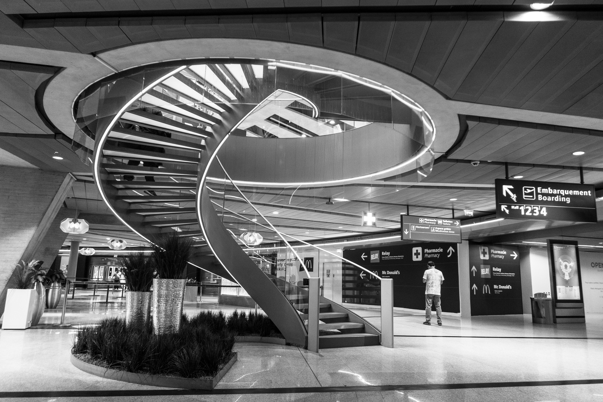 Airport In France by Patrick PAUMARD