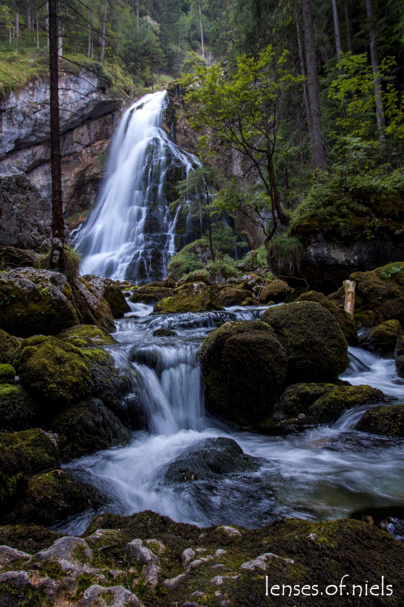 Waterfalls of Golling by Niels koenderink