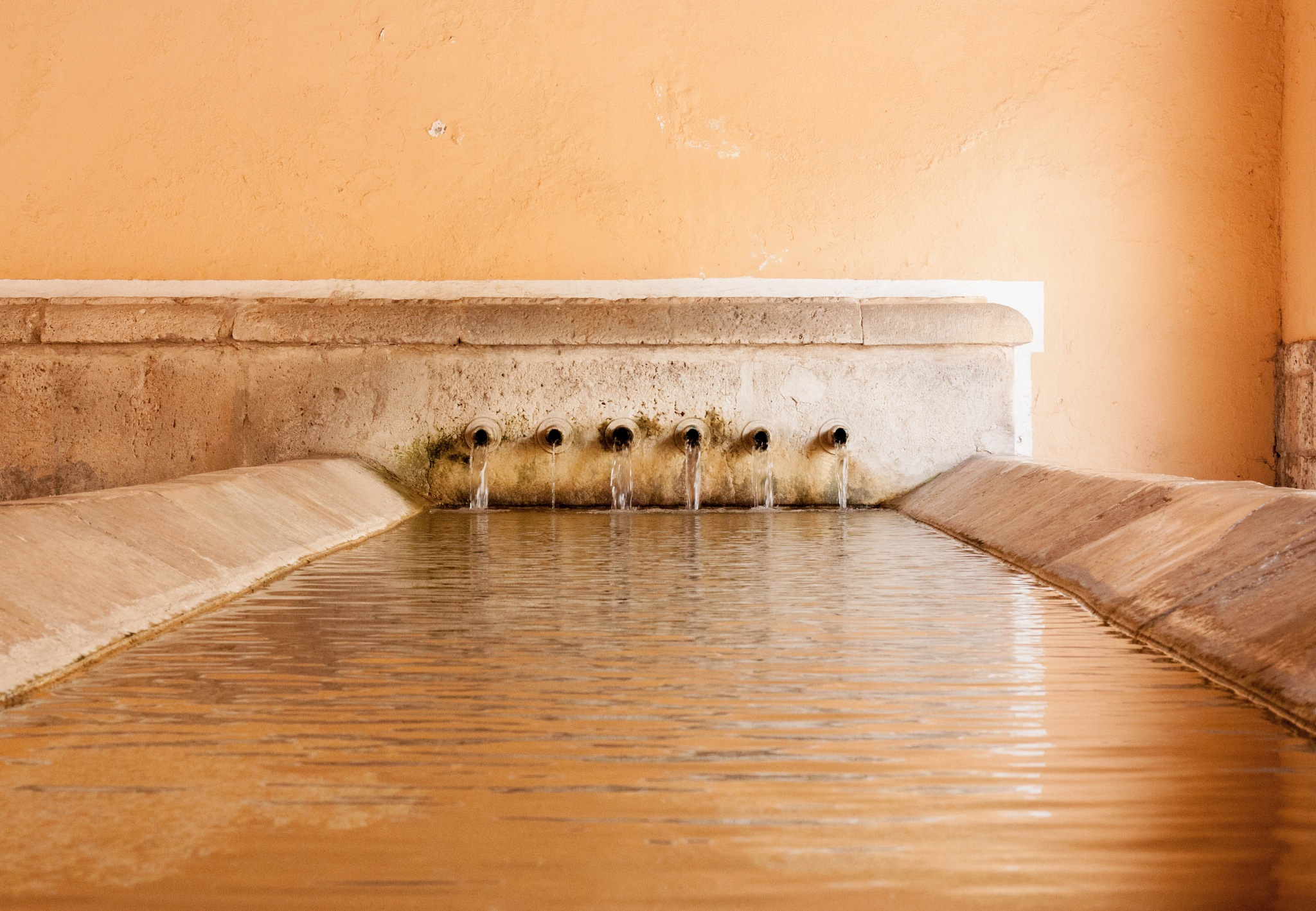 Fountain in Brihuega  by Rafa Leon