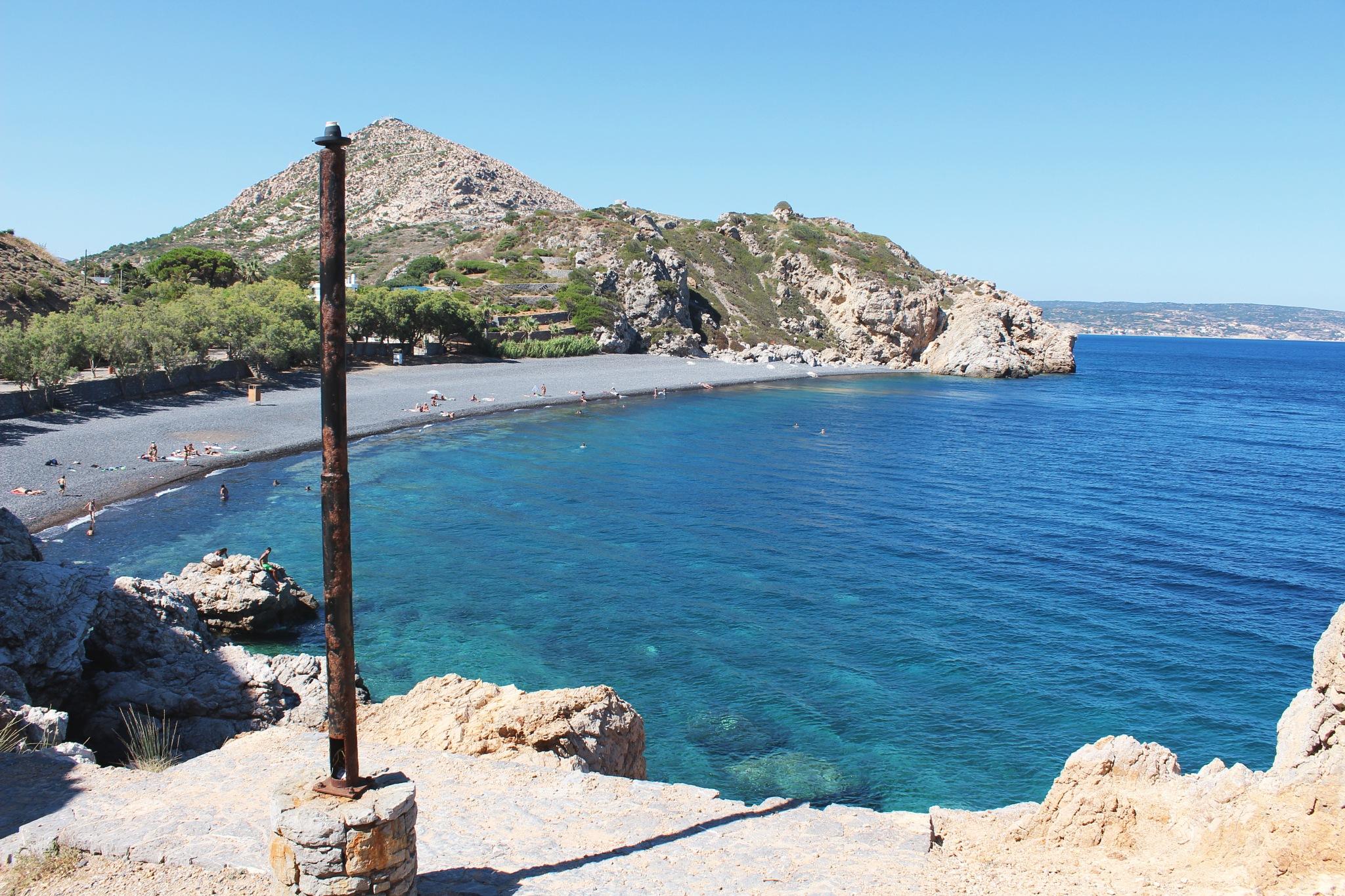 Greek beach  by Akobia Tatiana Jem