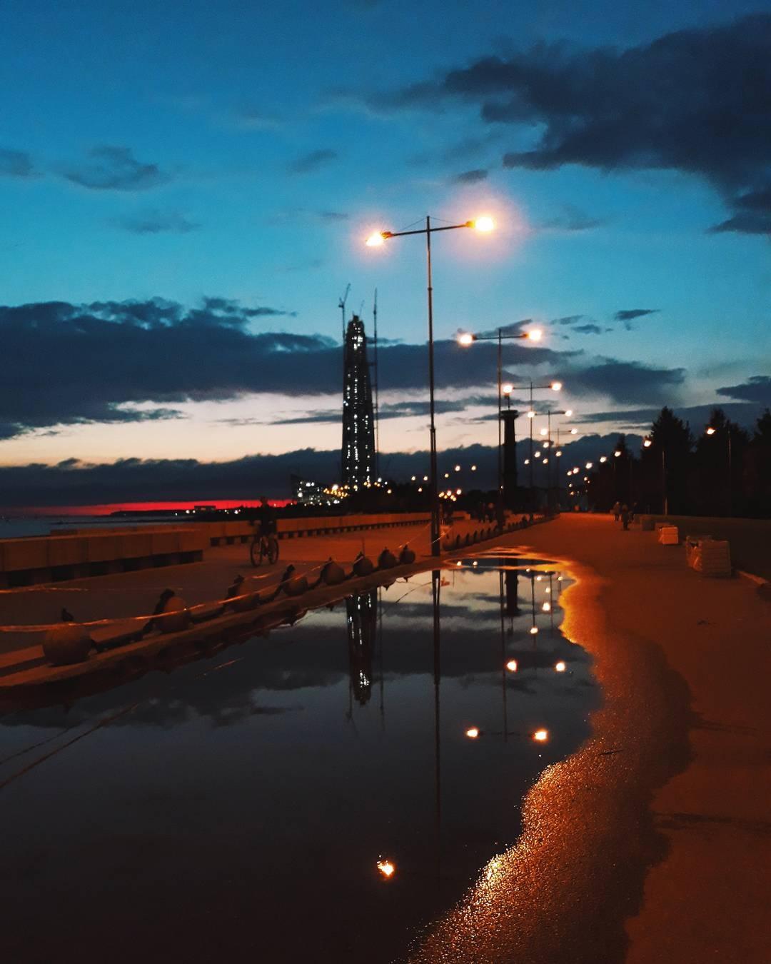 The Night is Tender by Arina Tatarskaya