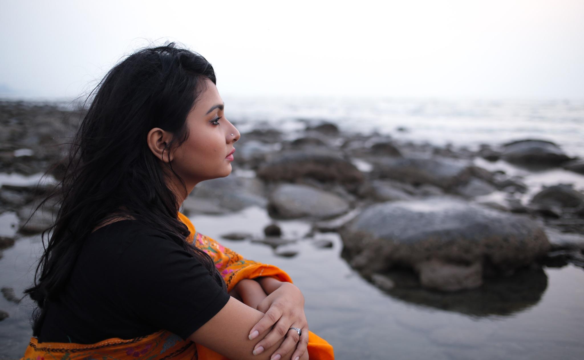 Sea Girl 6 by Ahsan Sarawar