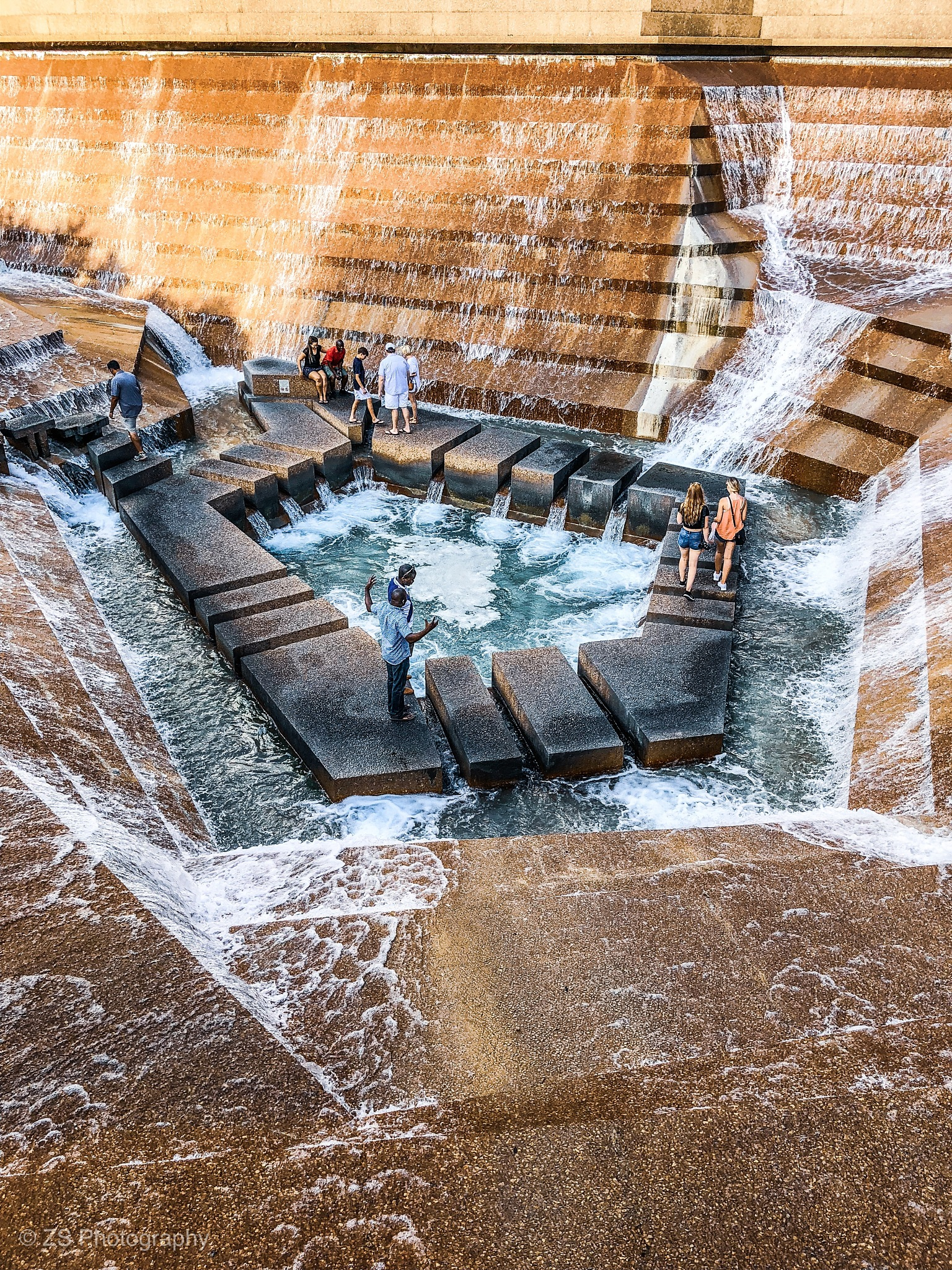 Fort Worth Water Gardens by ZS Photography