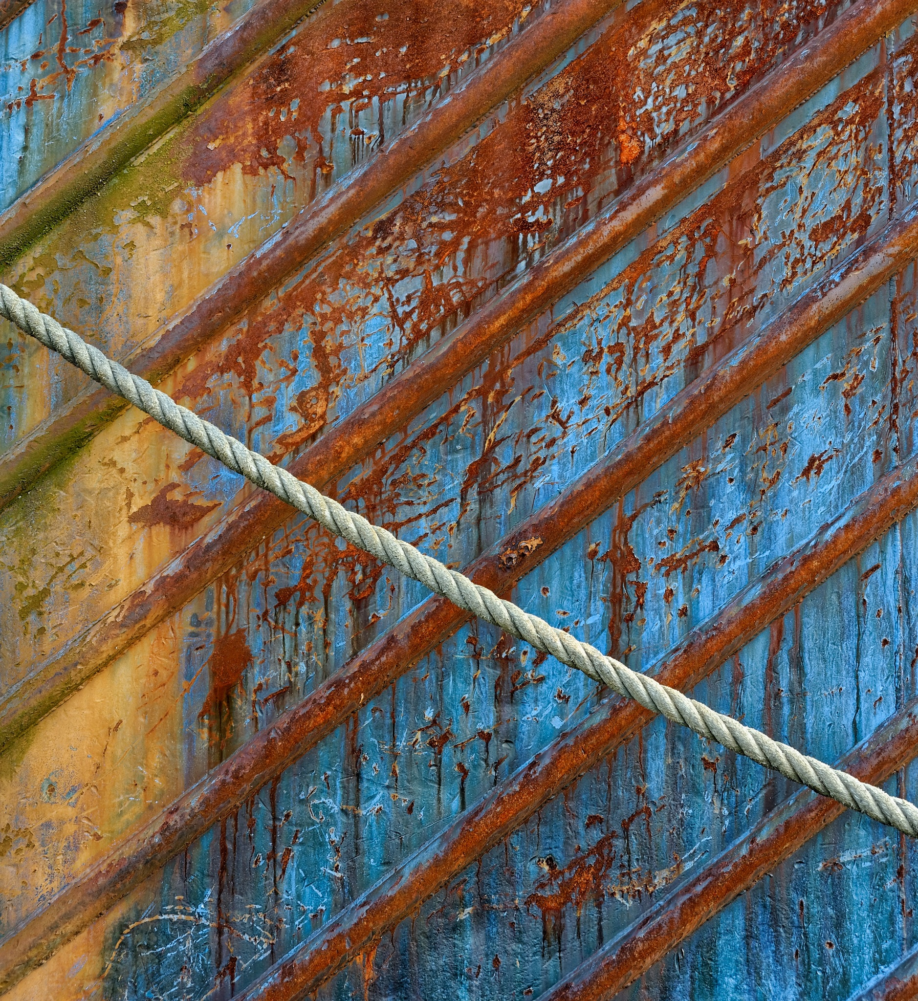 Rope and Rust by Nick Mirkovich