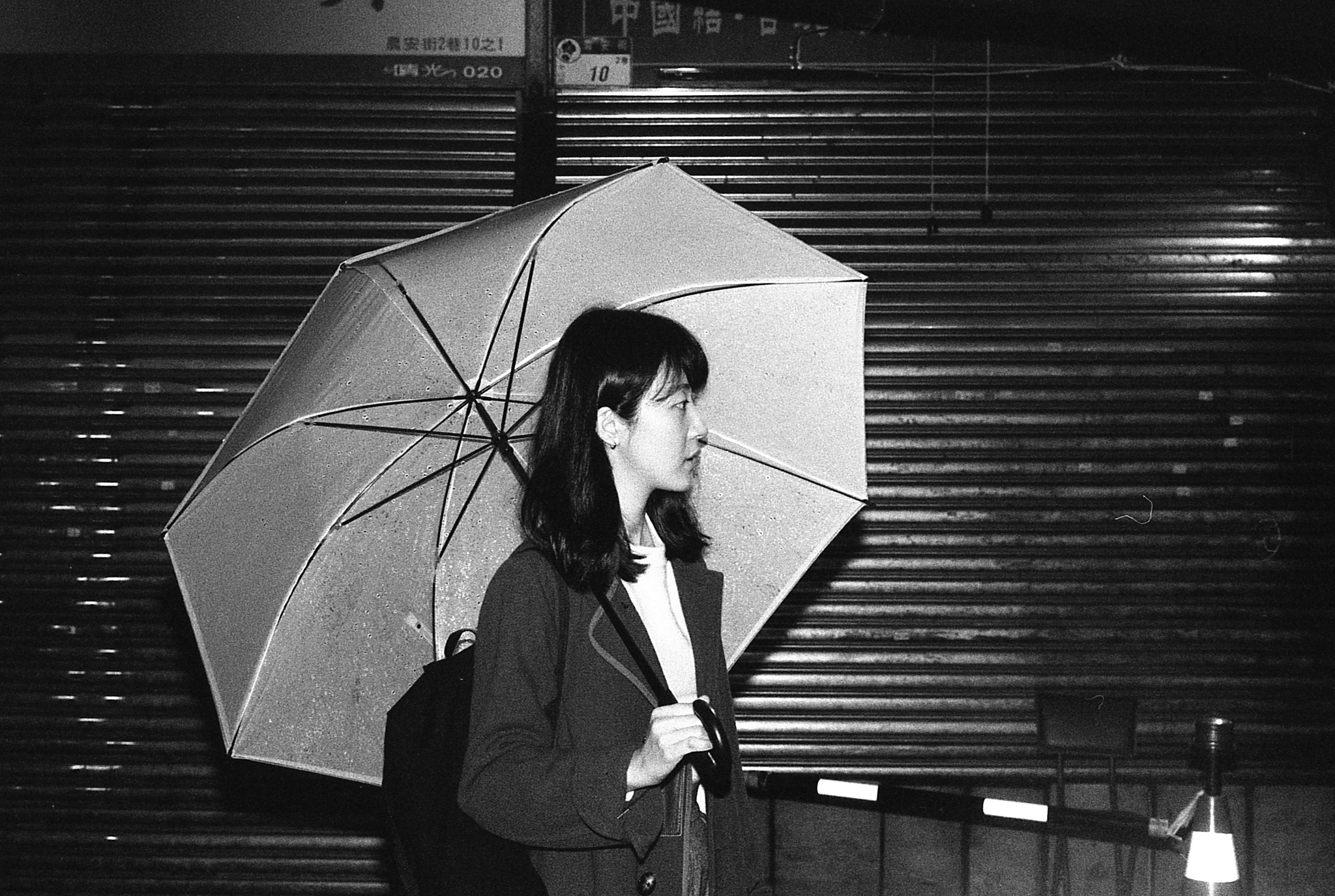 Umbrella for the flash light  by TOF_film