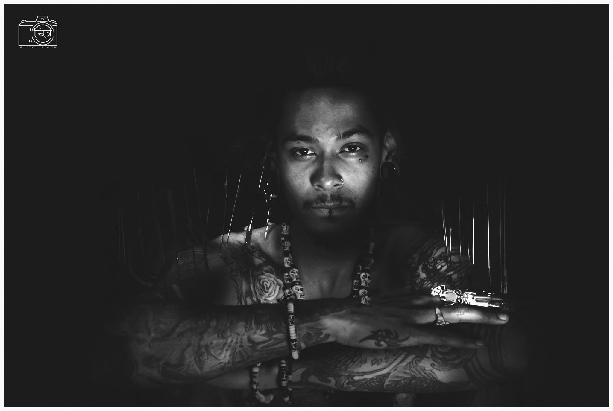 Needles and my ink stories....  by Meghawee Shakya