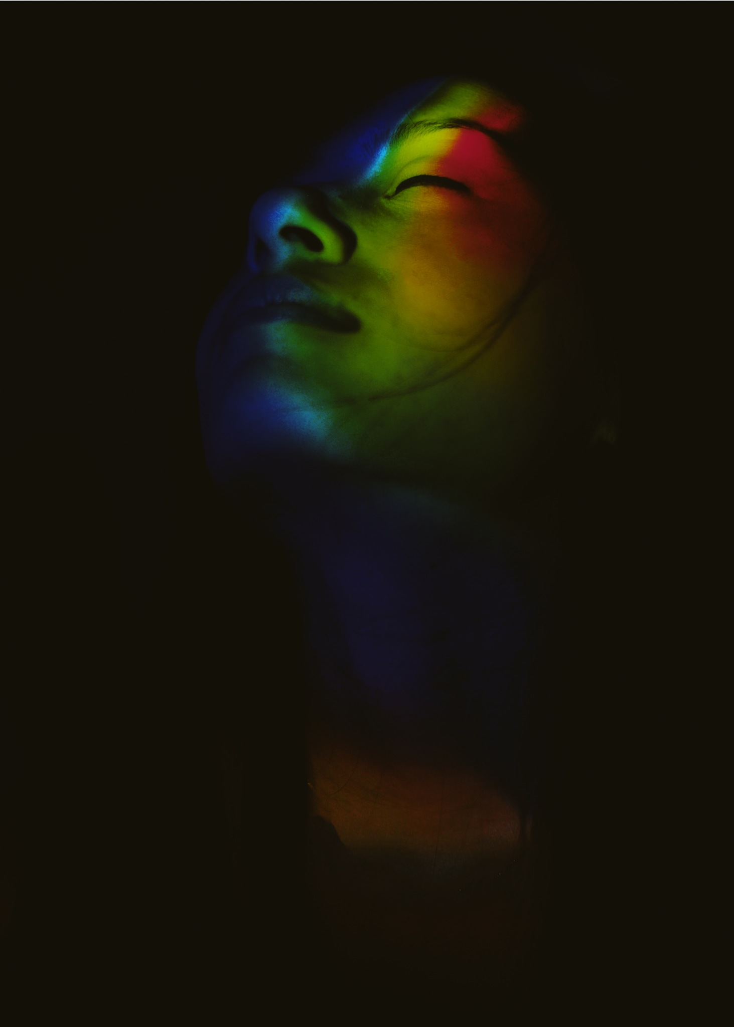 C O L O R E F L E C T I O N by Meghawee Shakya