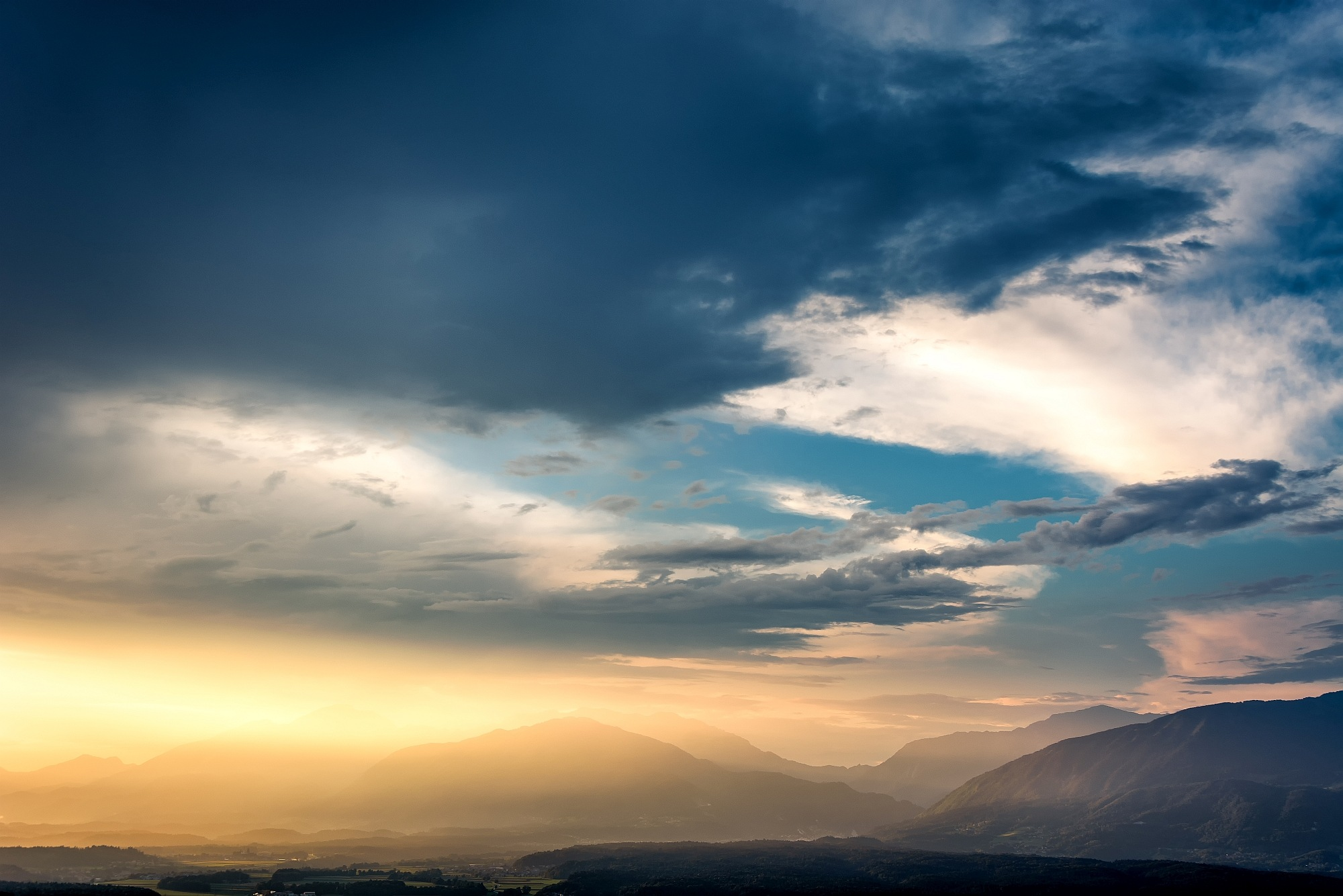 Sunset before the storm by Dragan Gavranovic