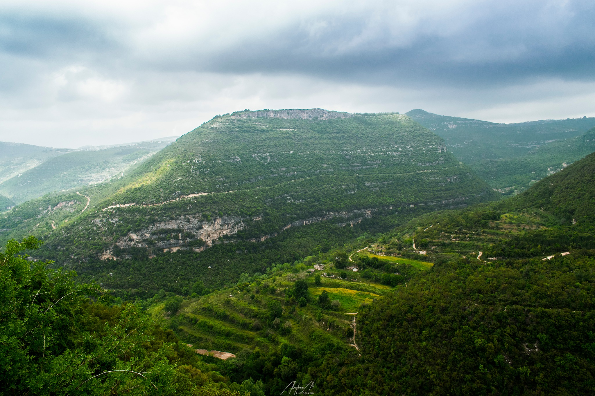 Syrian mountains by Alayham Ali