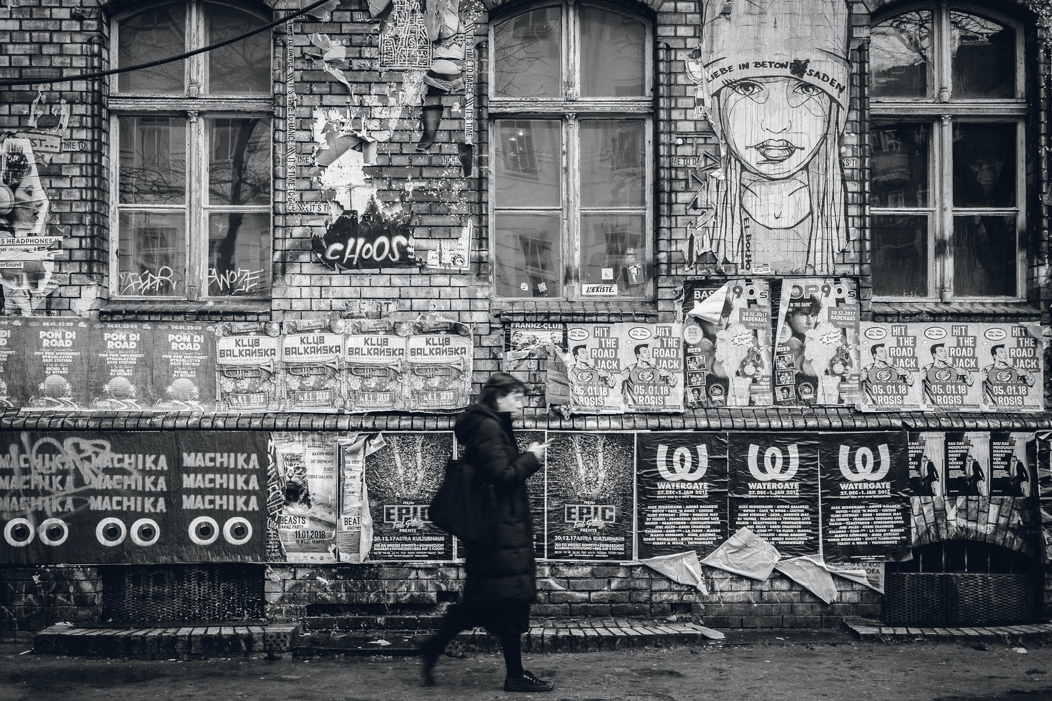Berlin Street Art 5 by Sebastian Franke