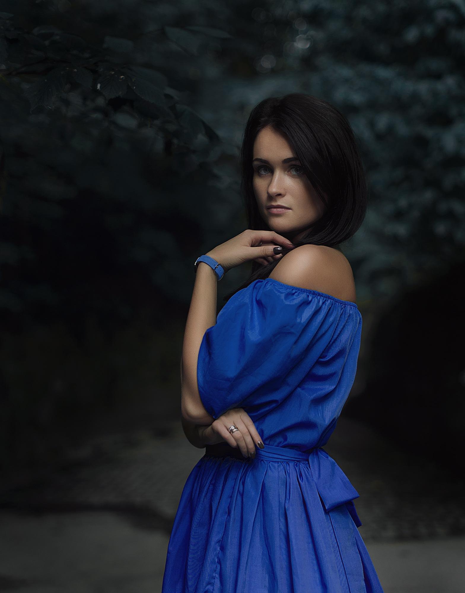 Lady in blue by Igor  Shnayder