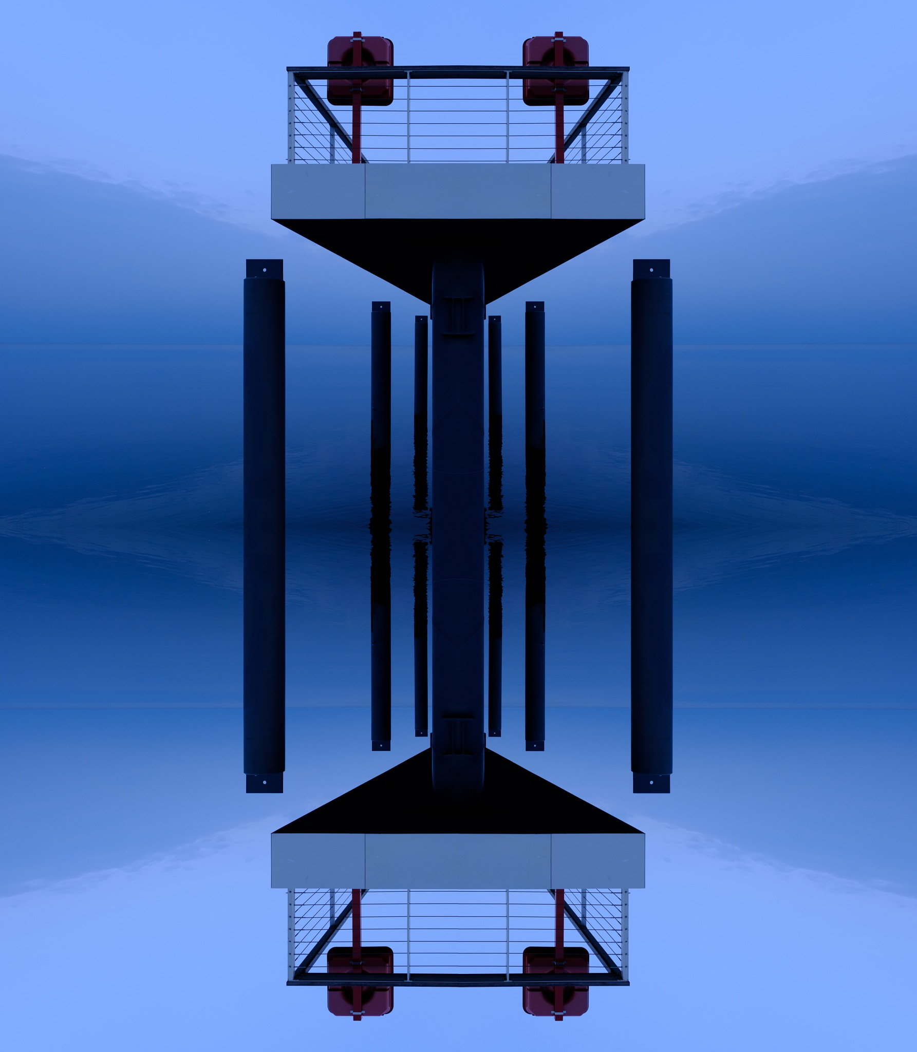 mirrorpier by Marcus Rembold