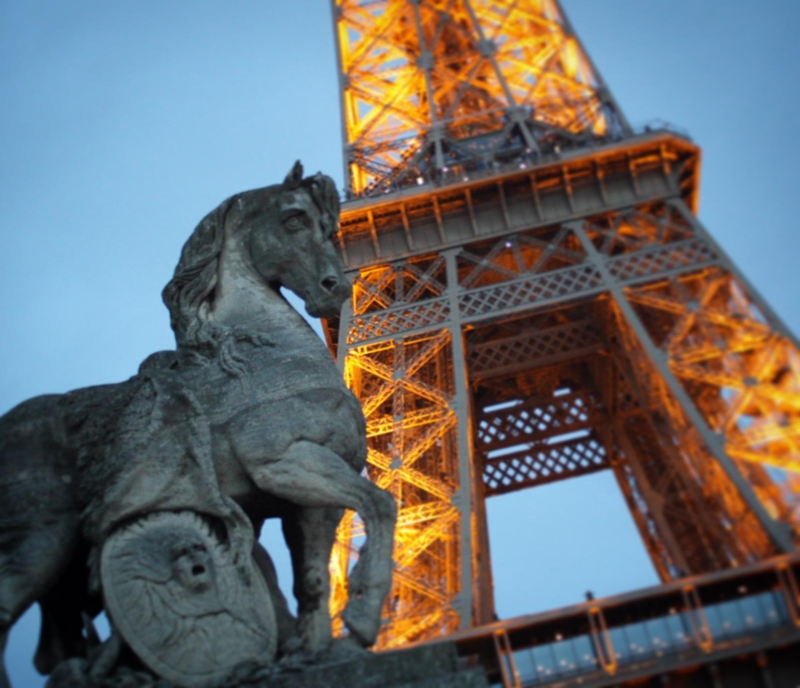 Eiffel Tower  by tiago2719h