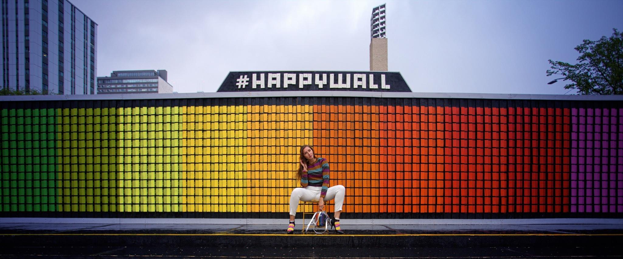 Happy Wall by jeffdwoodward