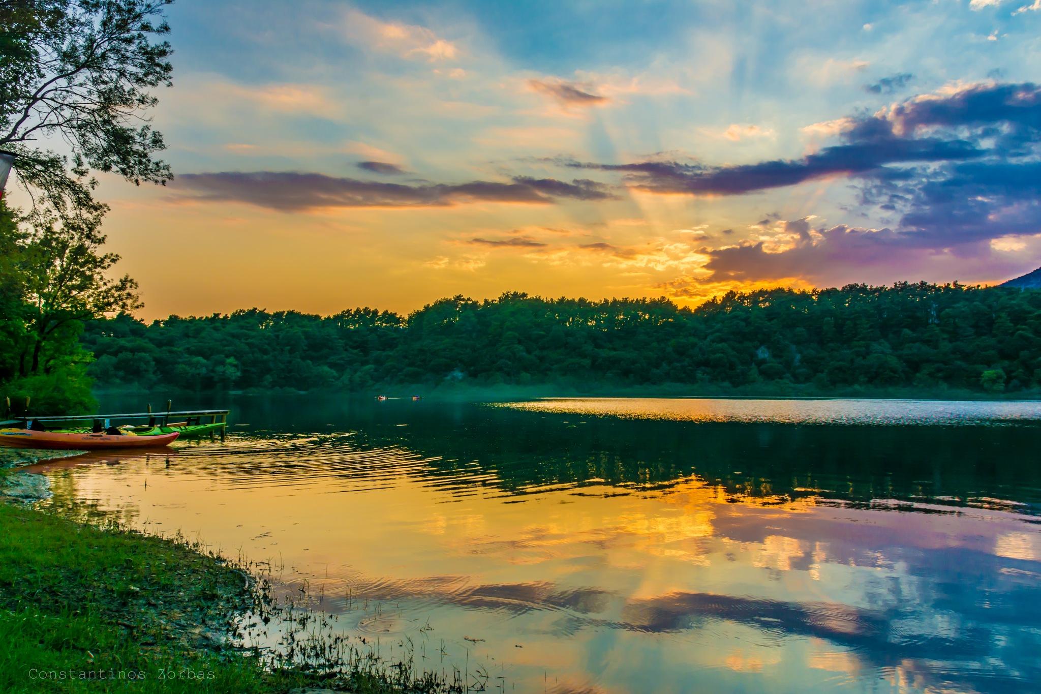 Ziros lake by Constantinos Zorbas