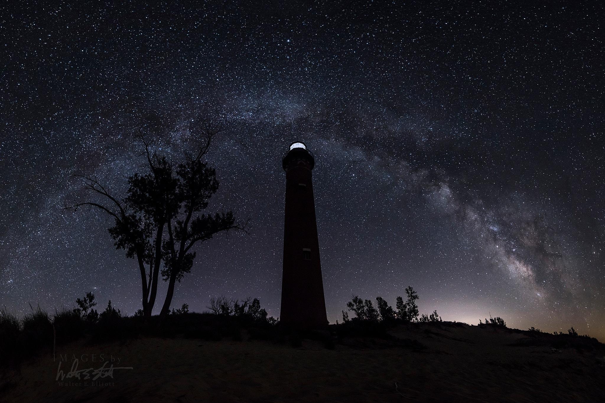 Little Sable Milky Way by Walter E. Elliott