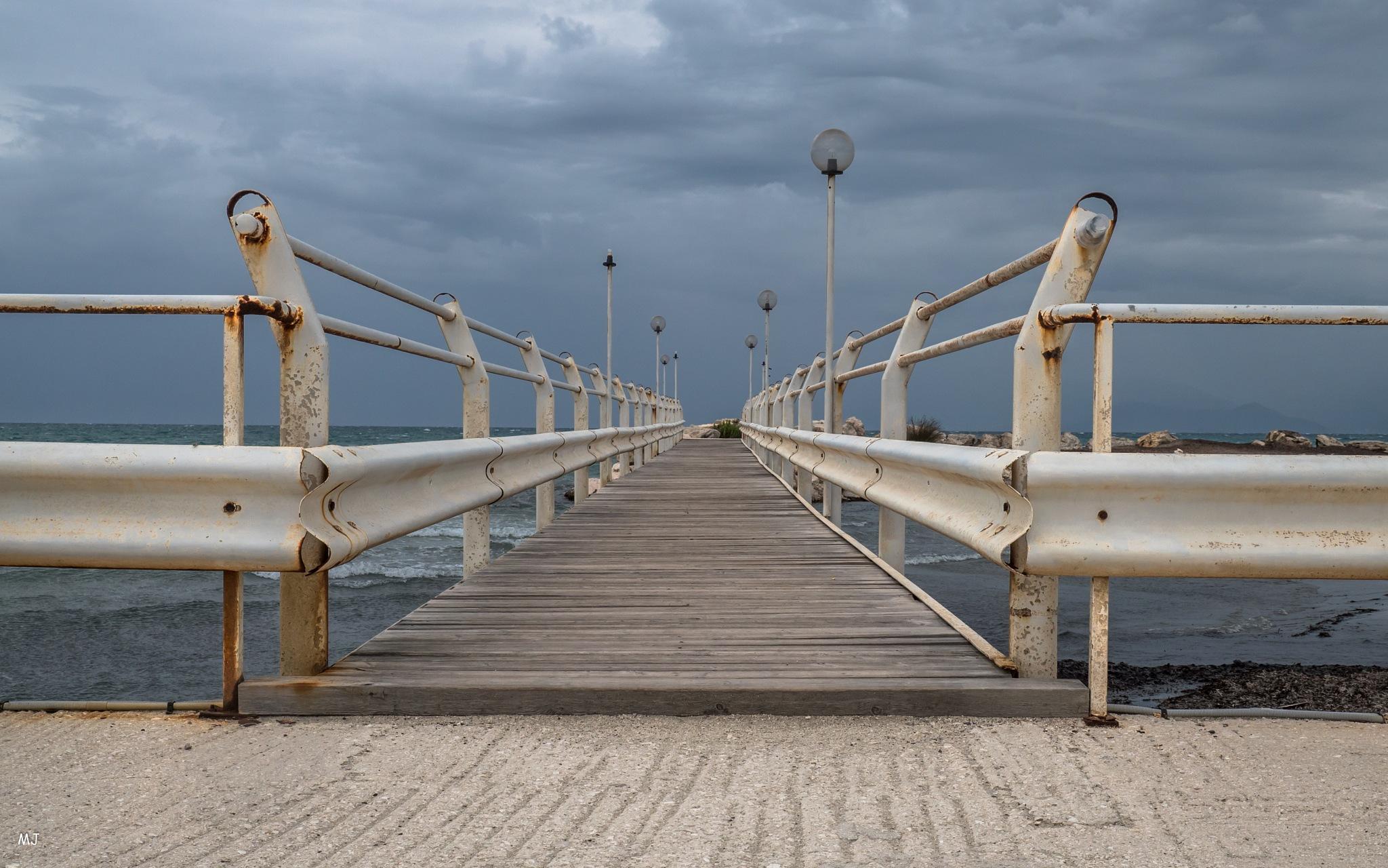 Le ponton by 291056mary