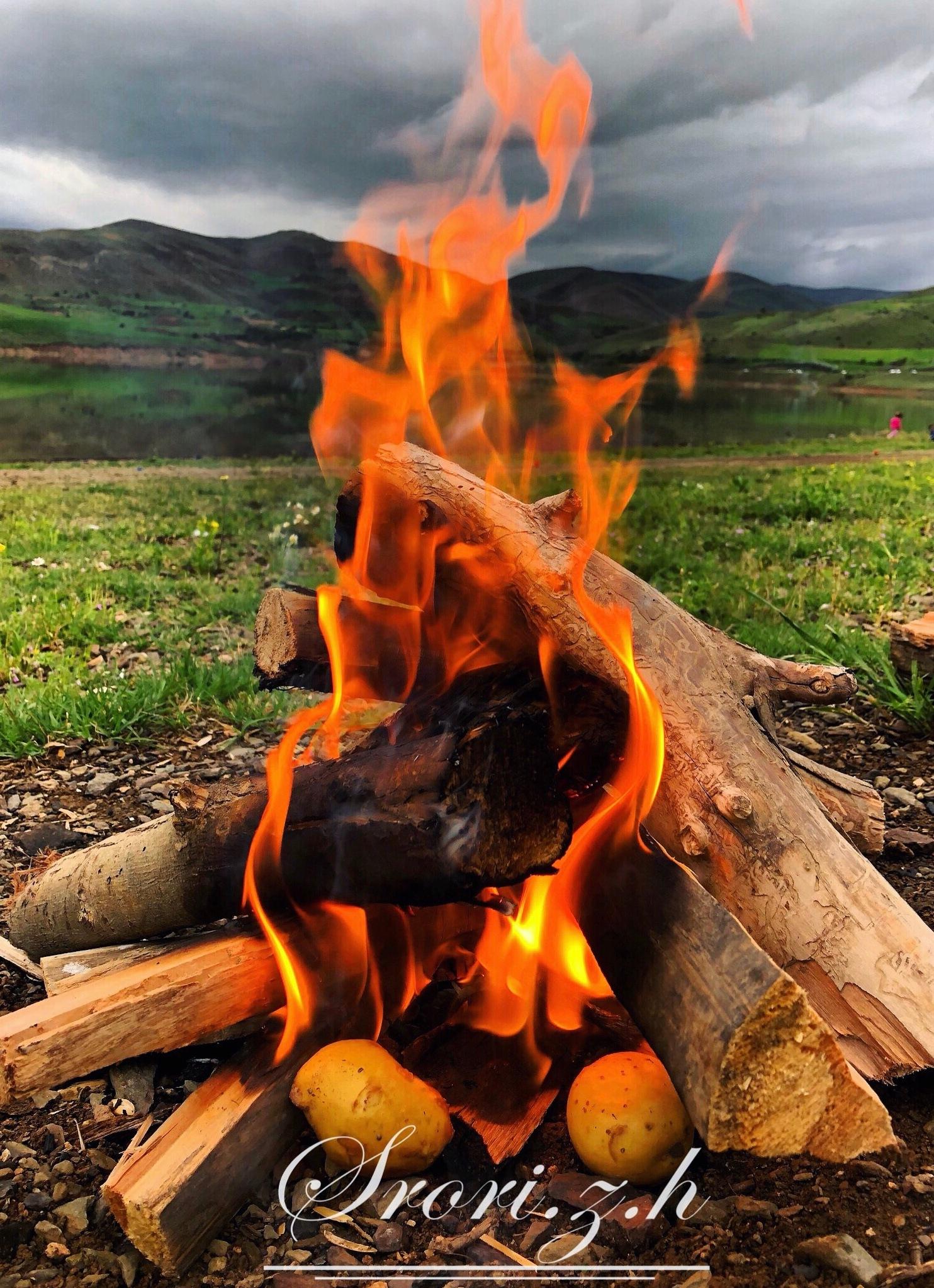 #fire #roast_potatoes by SRoRi zH