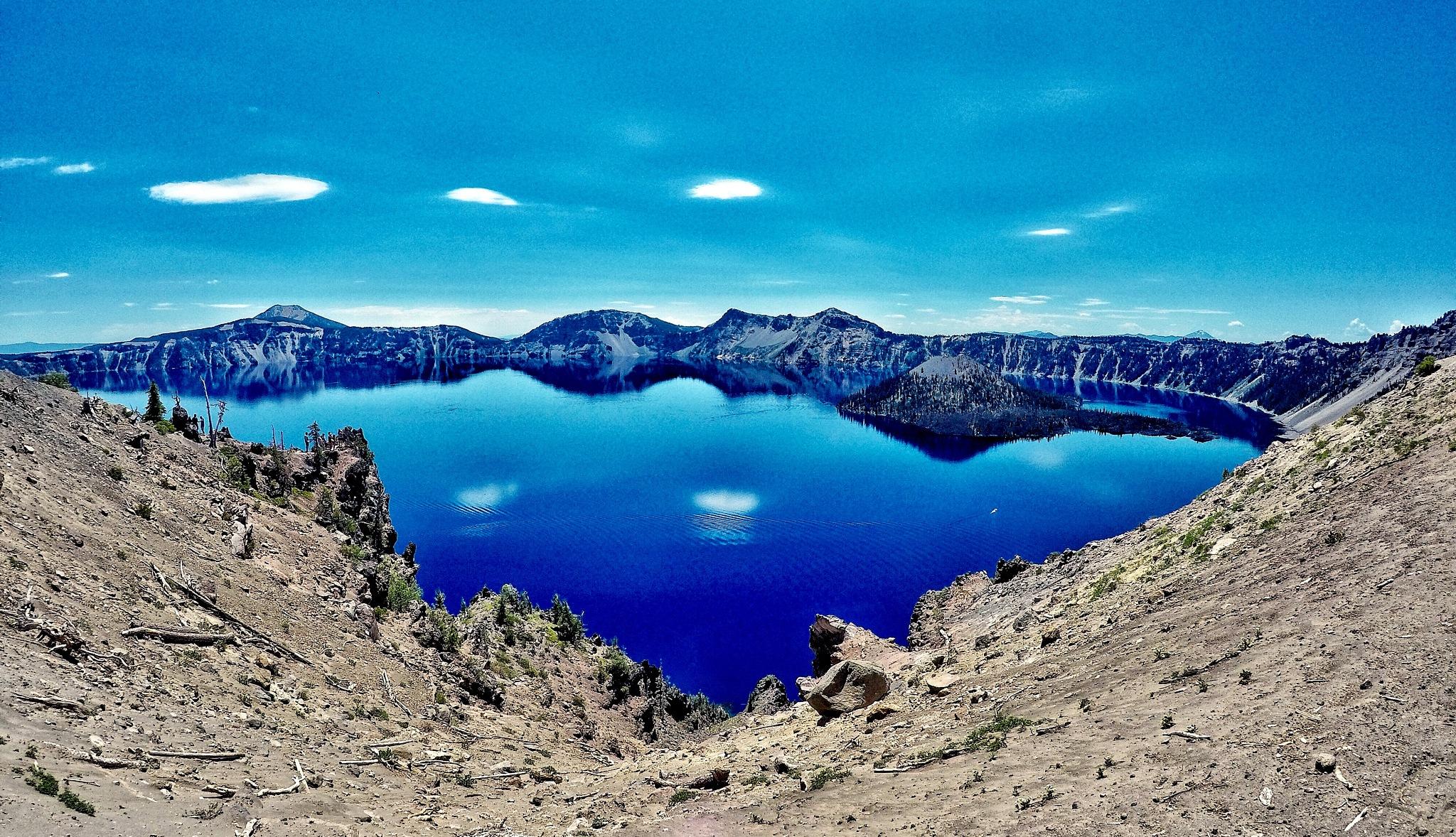 Blue reflection  by Alexander Schwarz