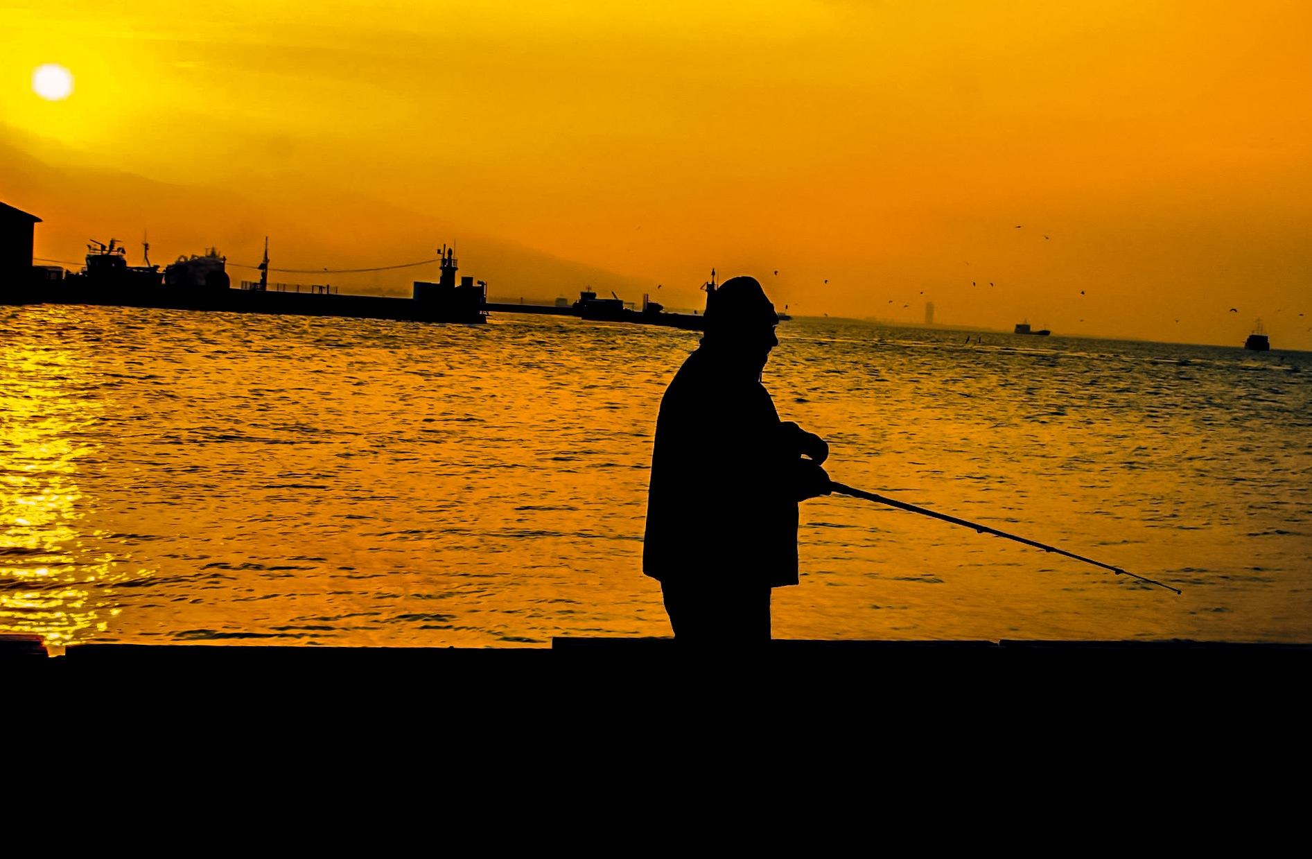 Fisher silhouette  by Oğuzhan Tekbaş