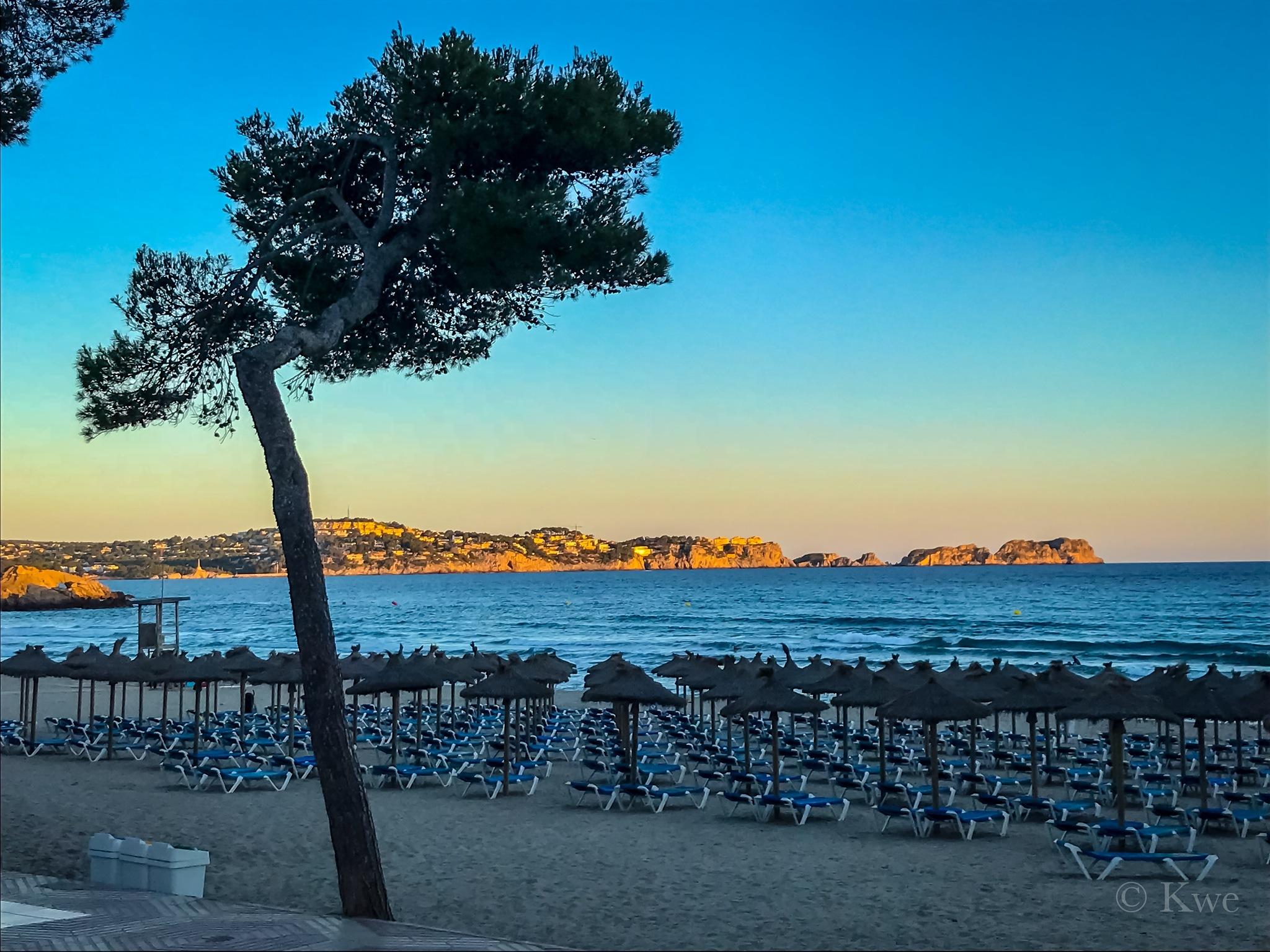 Beach Mallorca by ©️Kwe