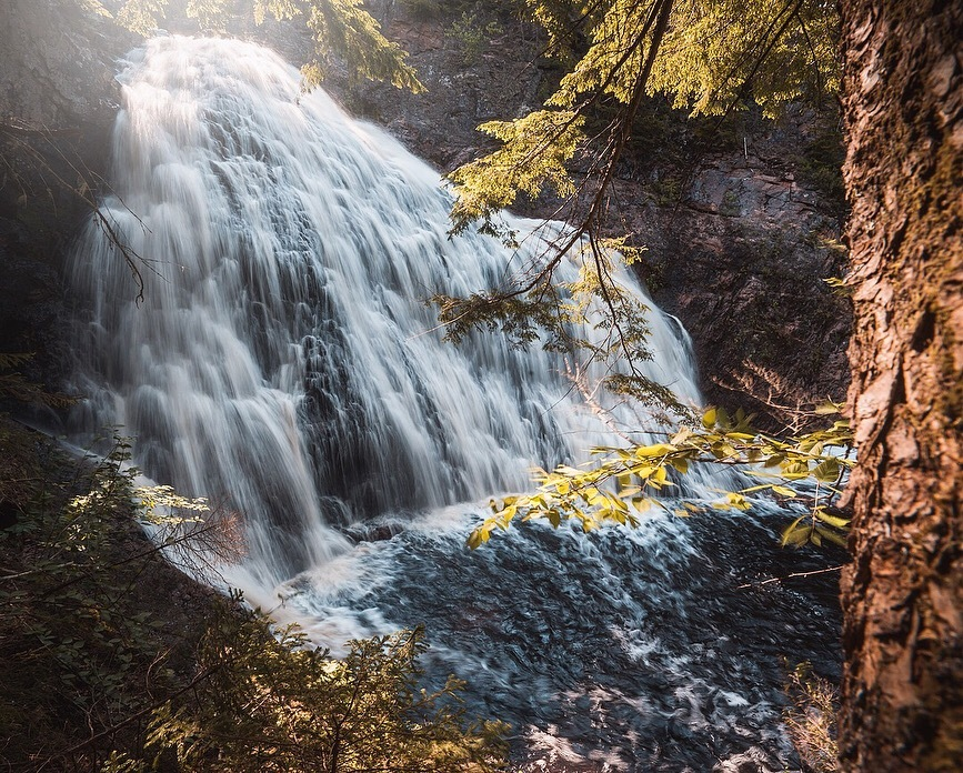 Welsford waterfalls is a perfect swimming spot  by Michael Stemm
