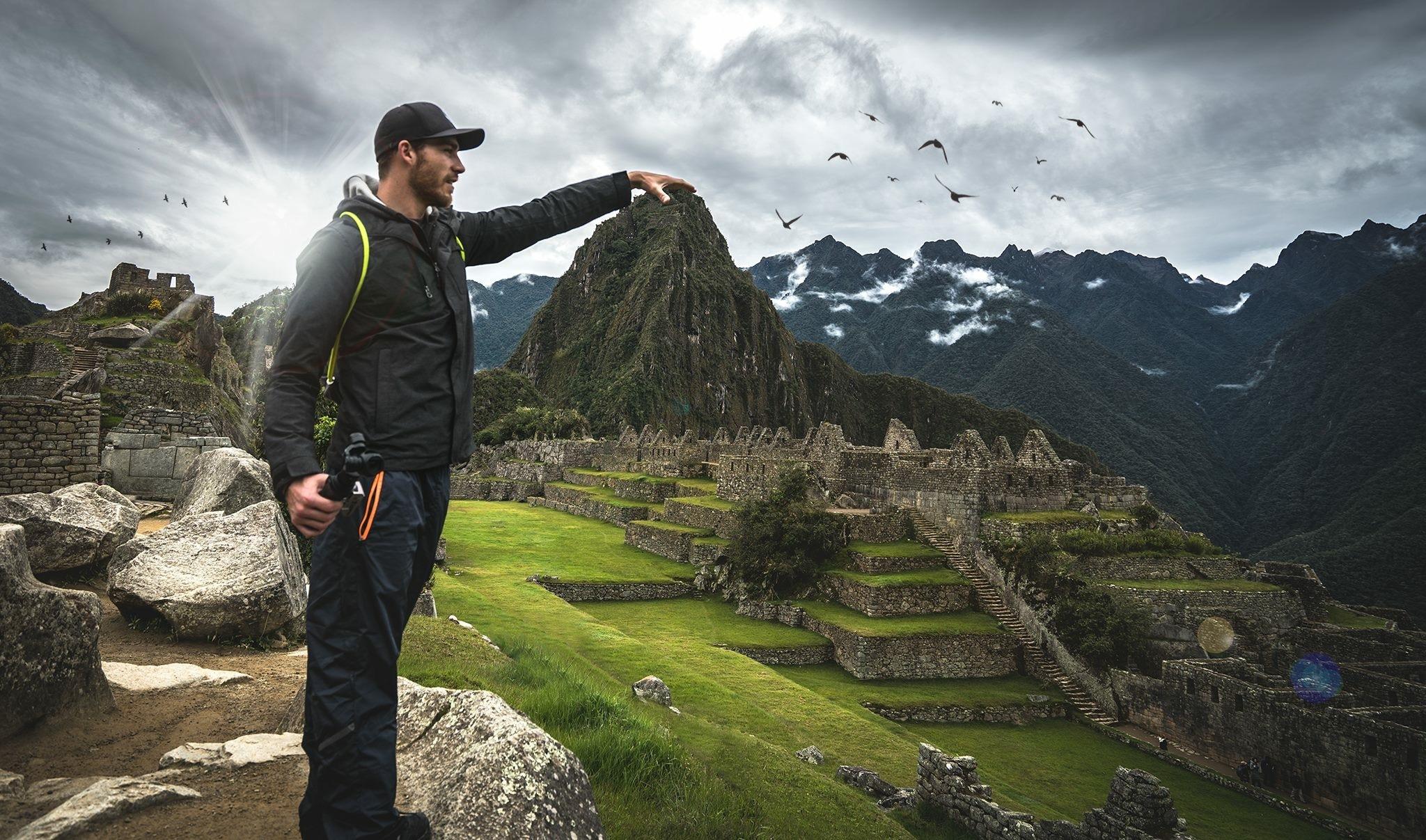 I built Machu Picchu  by Michael Stemm