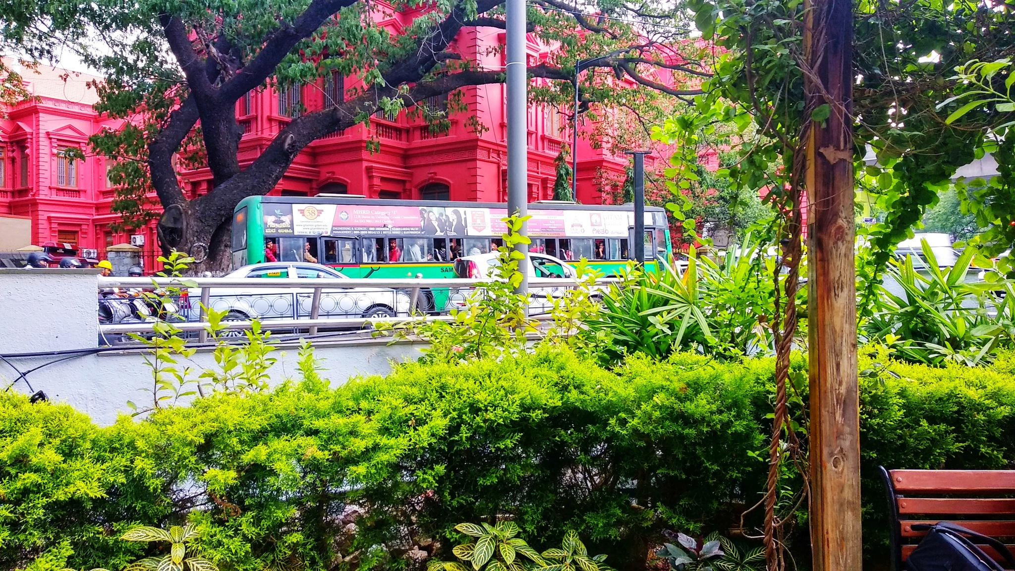 Bangalore MG Road by V Art Photography