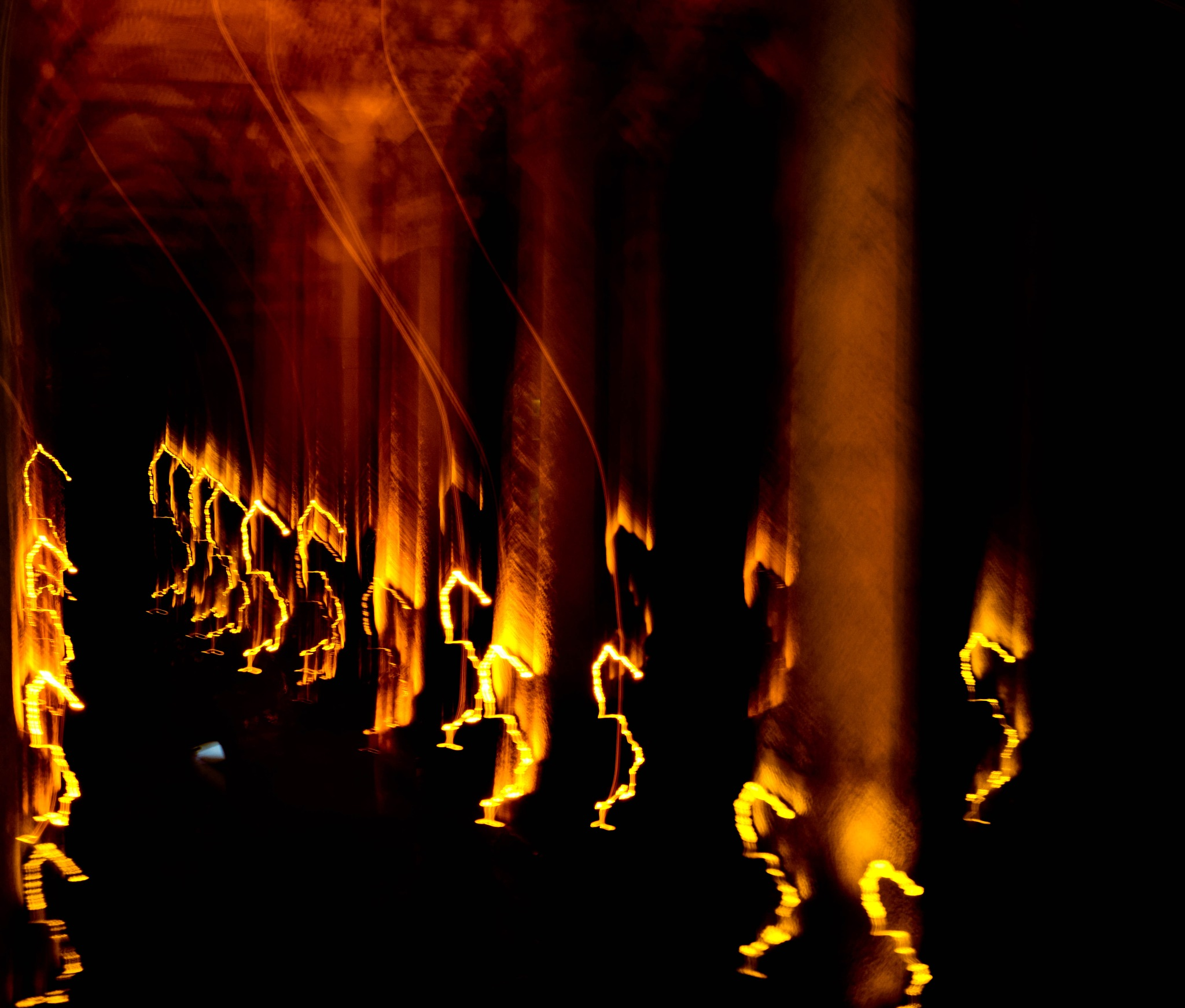 Grotto Up In Flames by Jan Bjørnaas