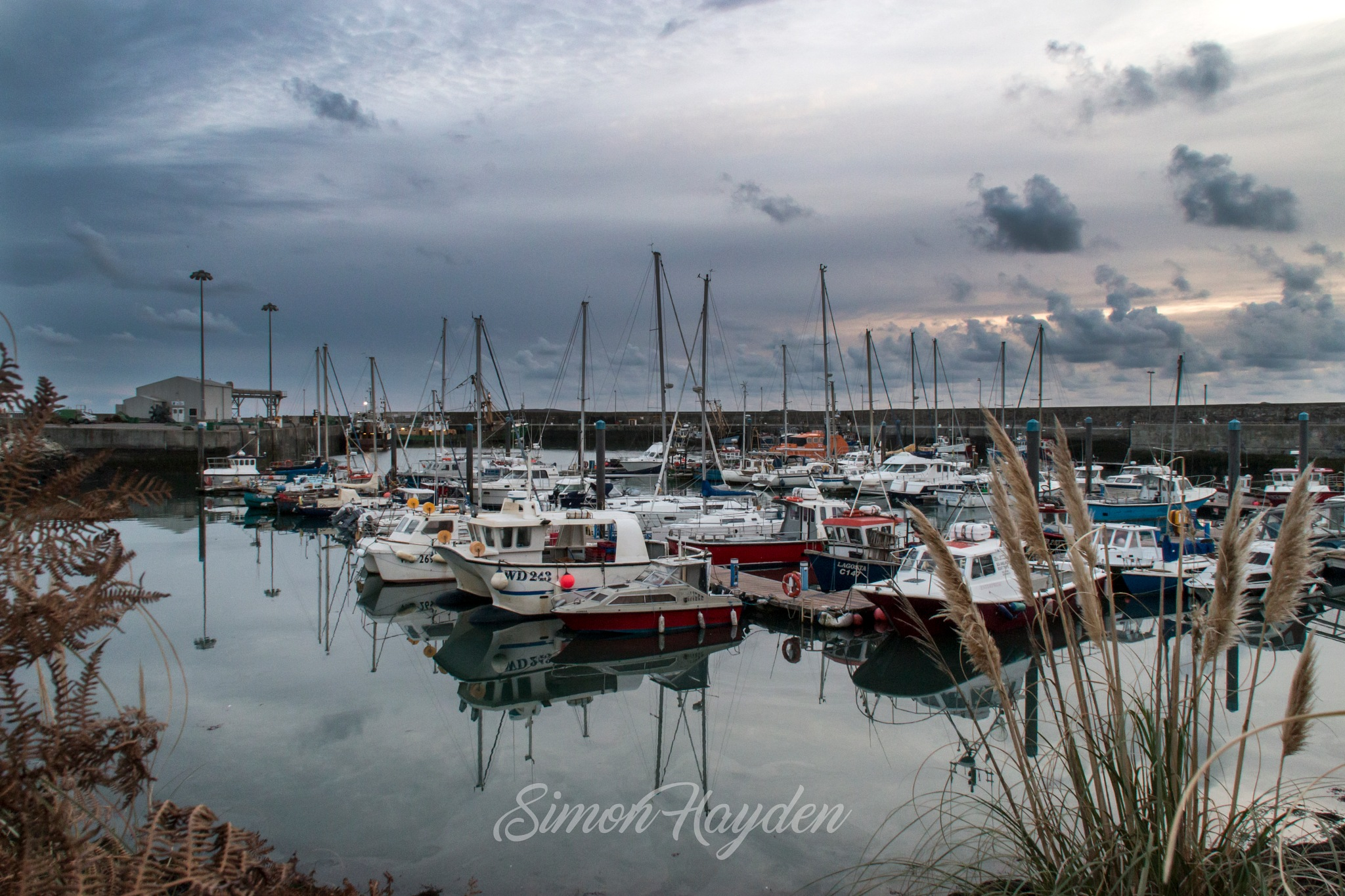 A moment of calm by Simon Hayden