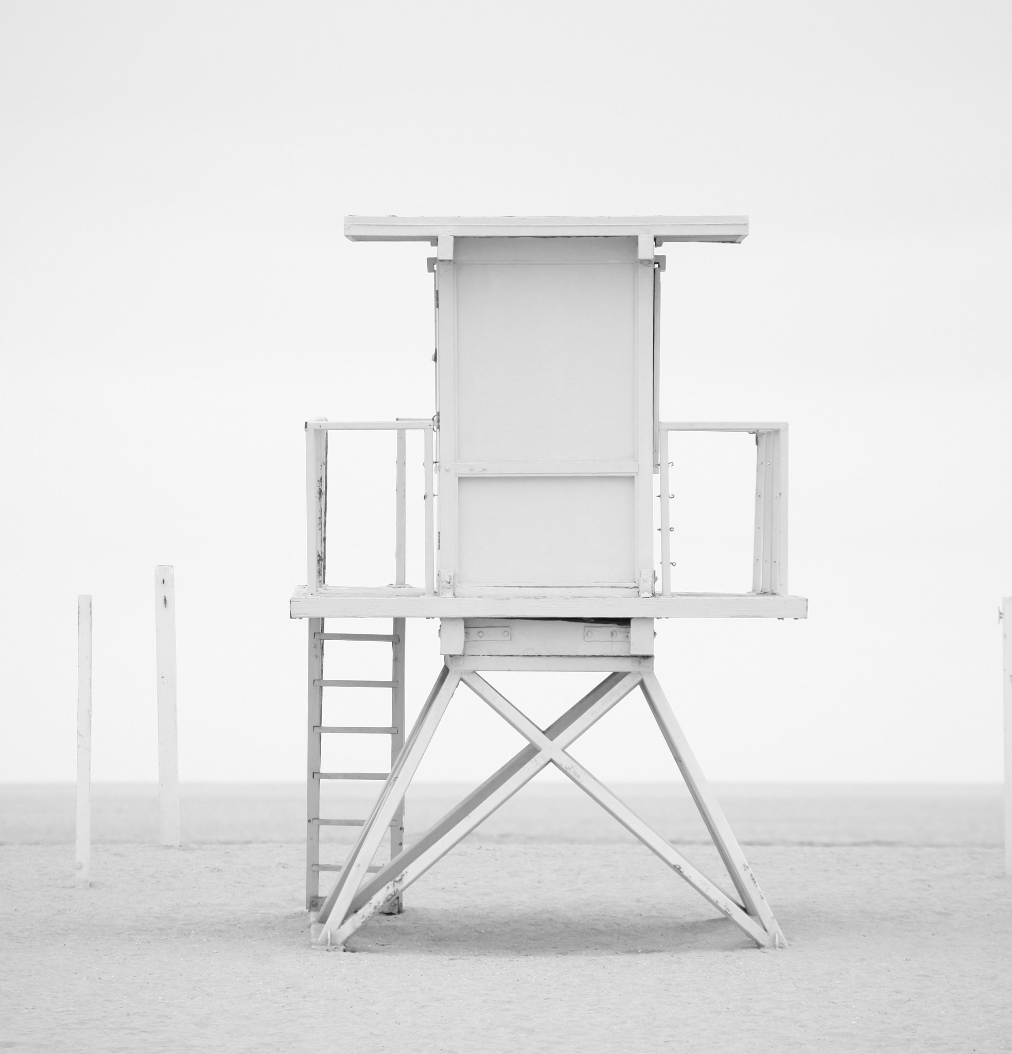 Iconic lifeguard tower by Kate Houlihan