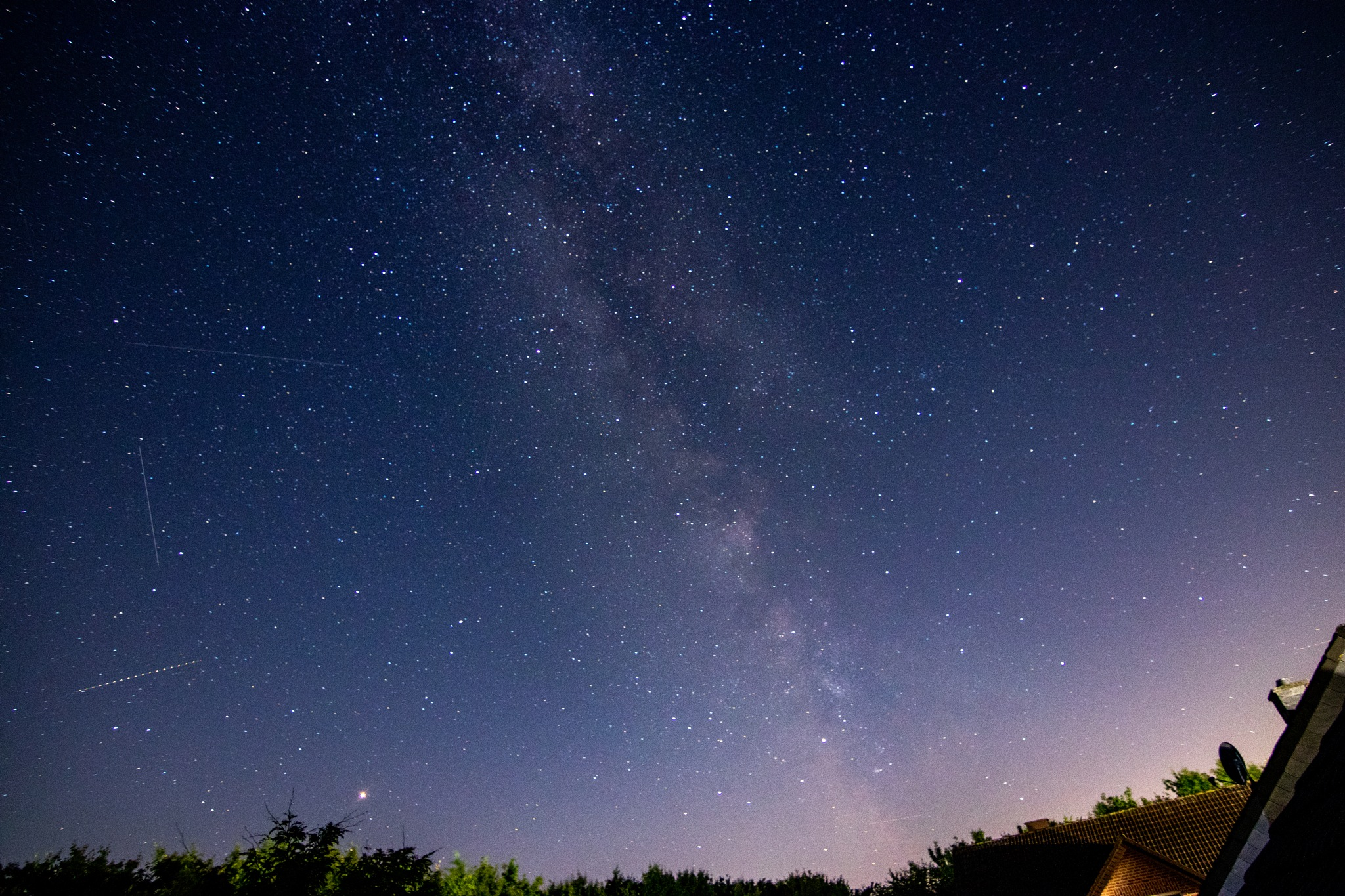 milky way by Violinjerry Lu