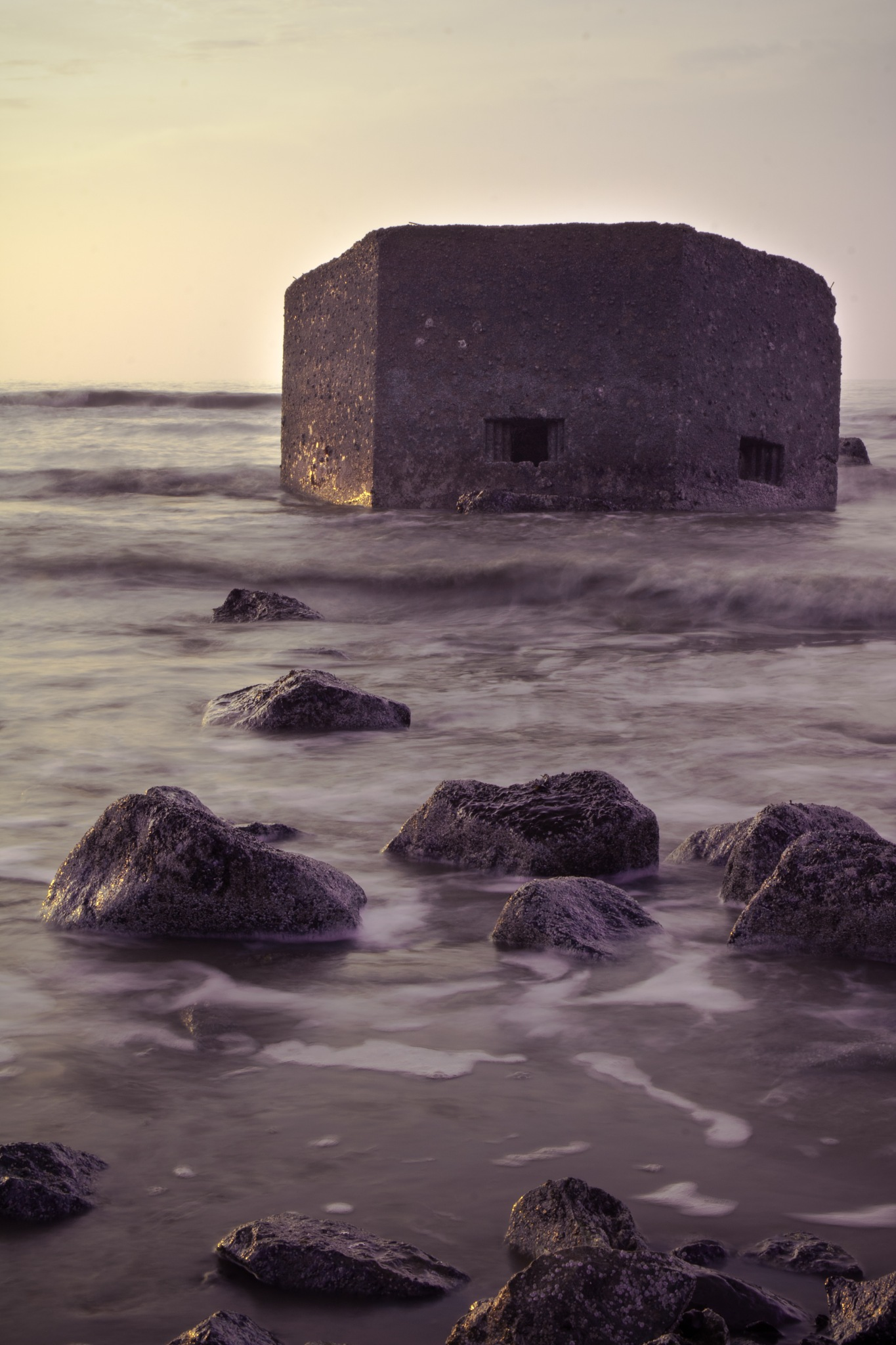 Bawdsey Pillboxes #2 by Joe Elsom