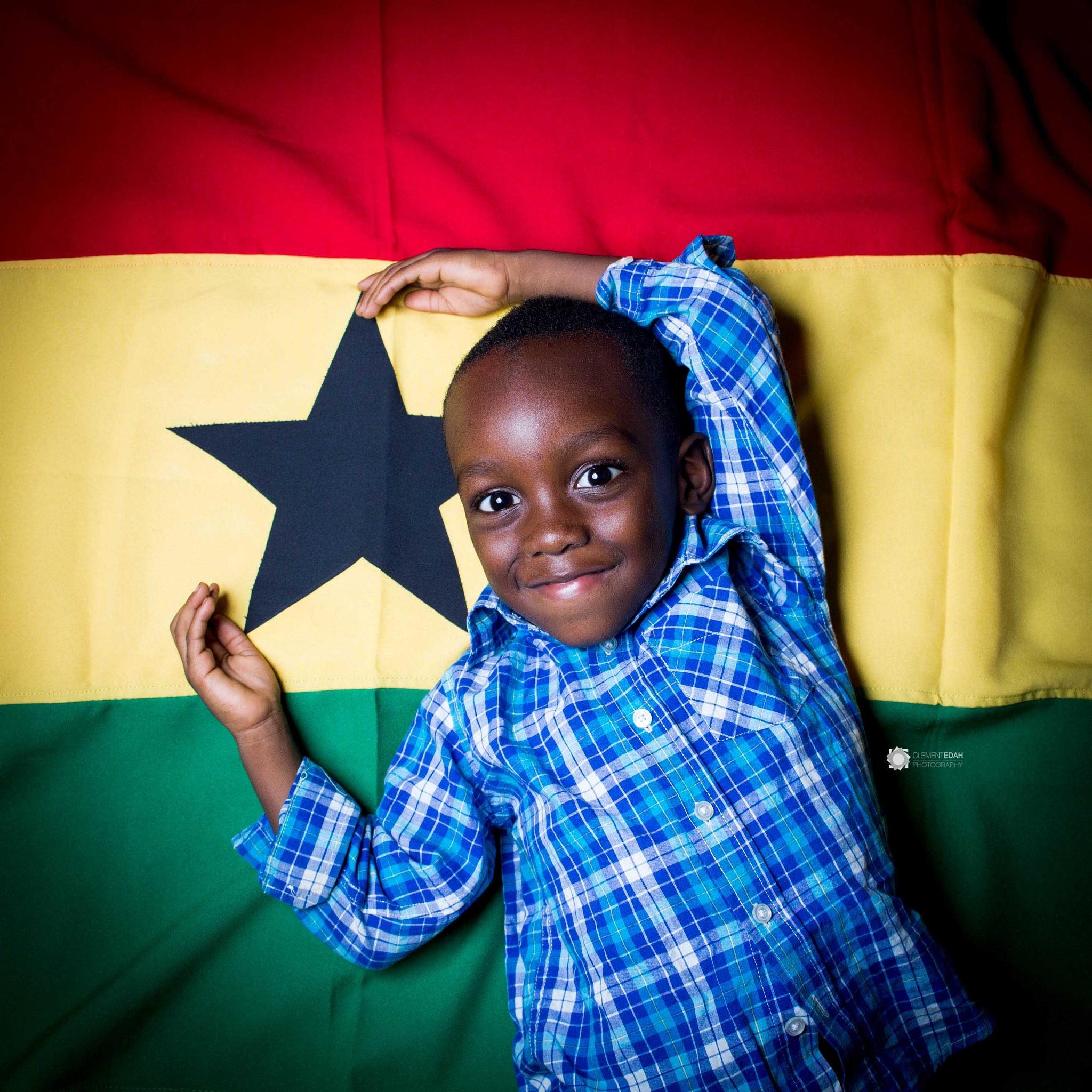 Child portrait by Clement Edah