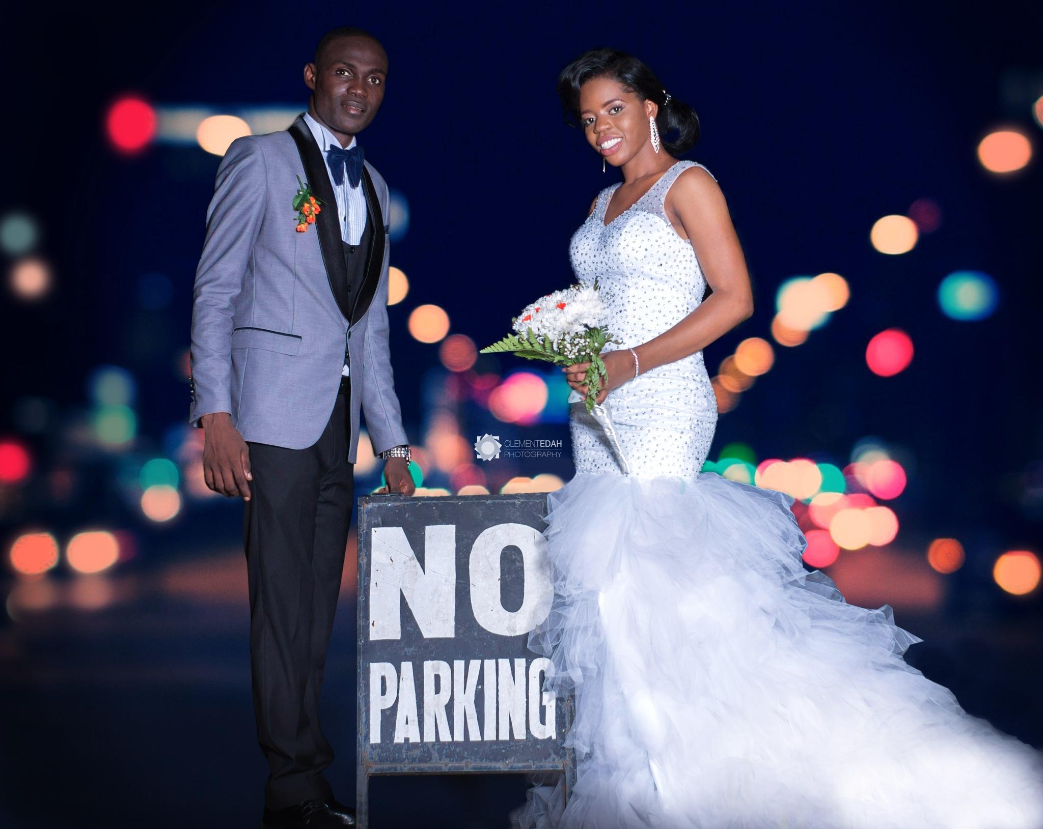 No parking  by Clement Edah